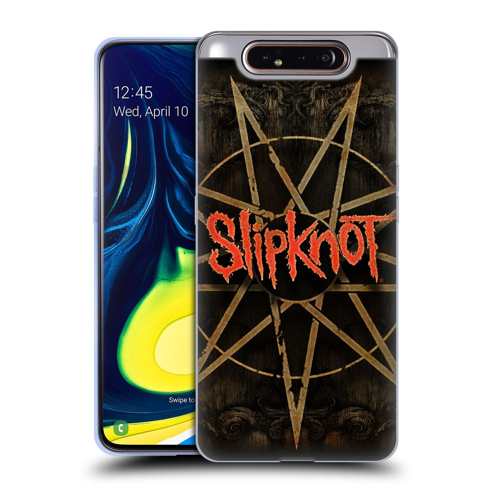 Silikonové pouzdro na mobil Samsung Galaxy A80 - Head Case - Slipknot - Znak