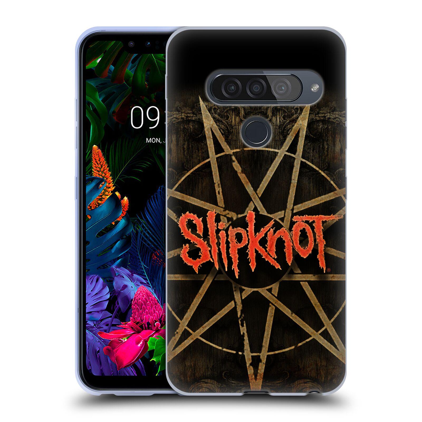 Silikonové pouzdro na mobil LG G8s ThinQ - Head Case - Slipknot - Znak