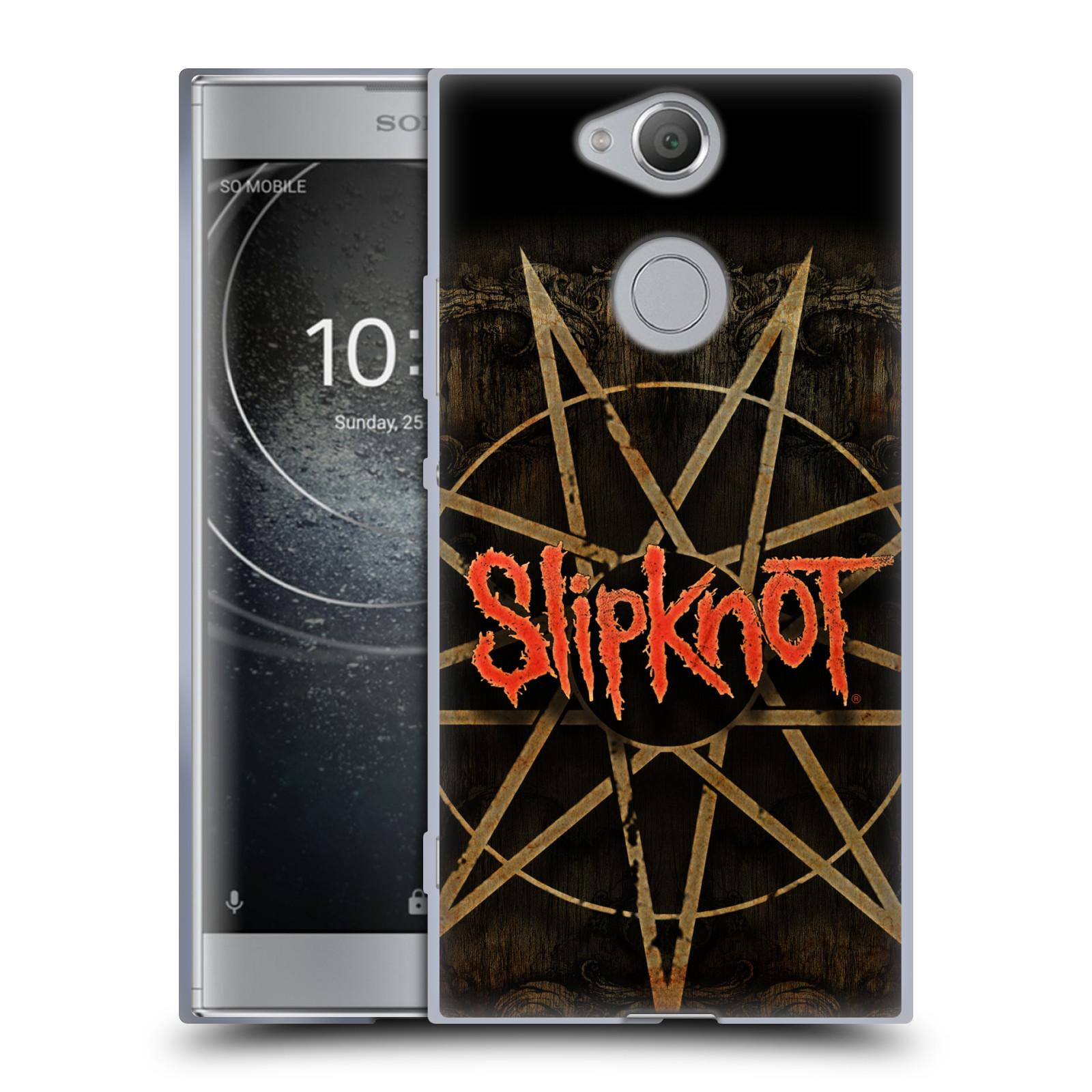 Silikonové pouzdro na mobil Sony Xperia XA2 - Head Case - Slipknot - Znak