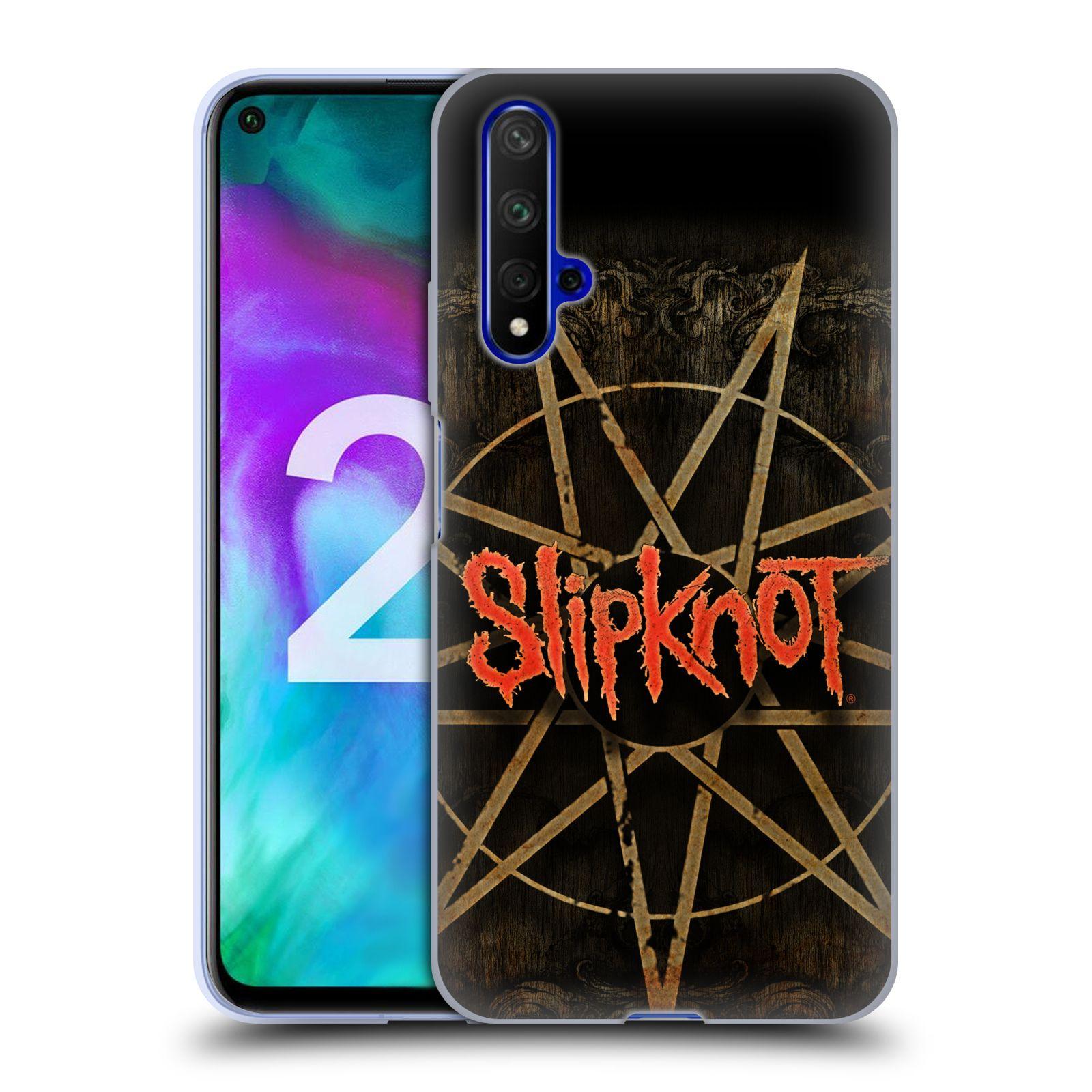 Silikonové pouzdro na mobil Honor 20 - Head Case - Slipknot - Znak