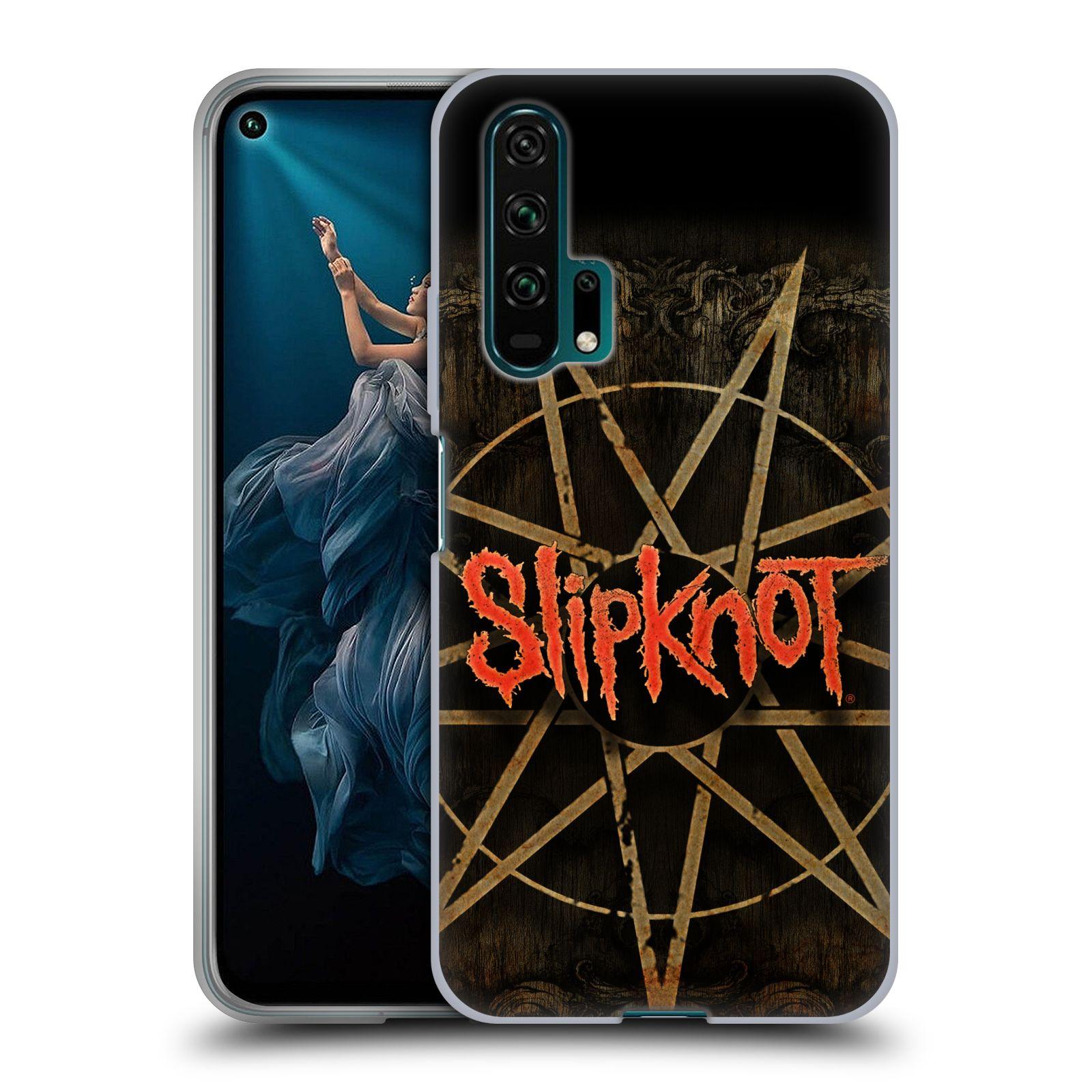 Silikonové pouzdro na mobil Honor 20 Pro - Head Case - Slipknot - Znak