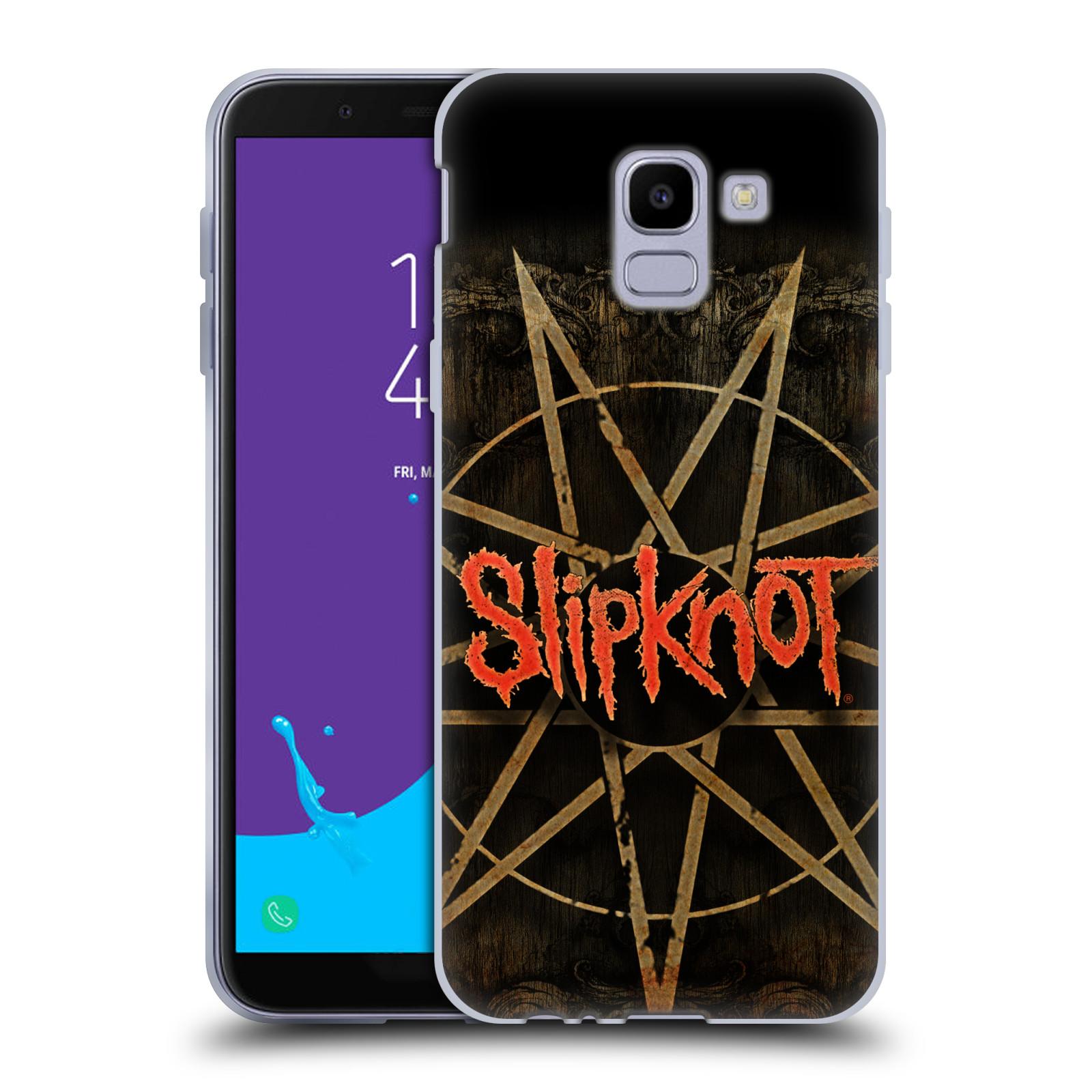 Silikonové pouzdro na mobil Samsung Galaxy J6 (2018) - Head Case - Slipknot - Znak