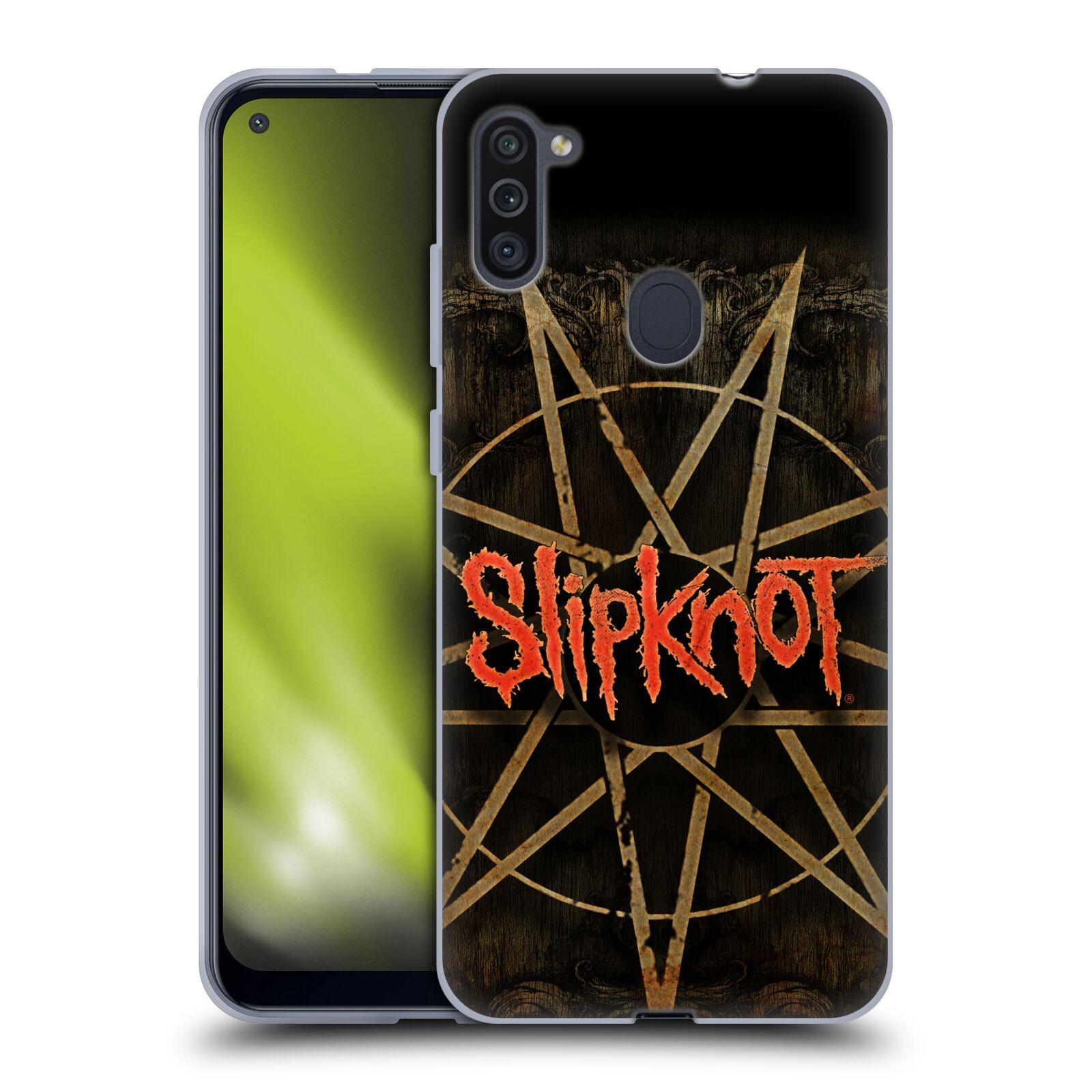 Silikonové pouzdro na mobil Samsung Galaxy M11 - Head Case - Slipknot - Znak