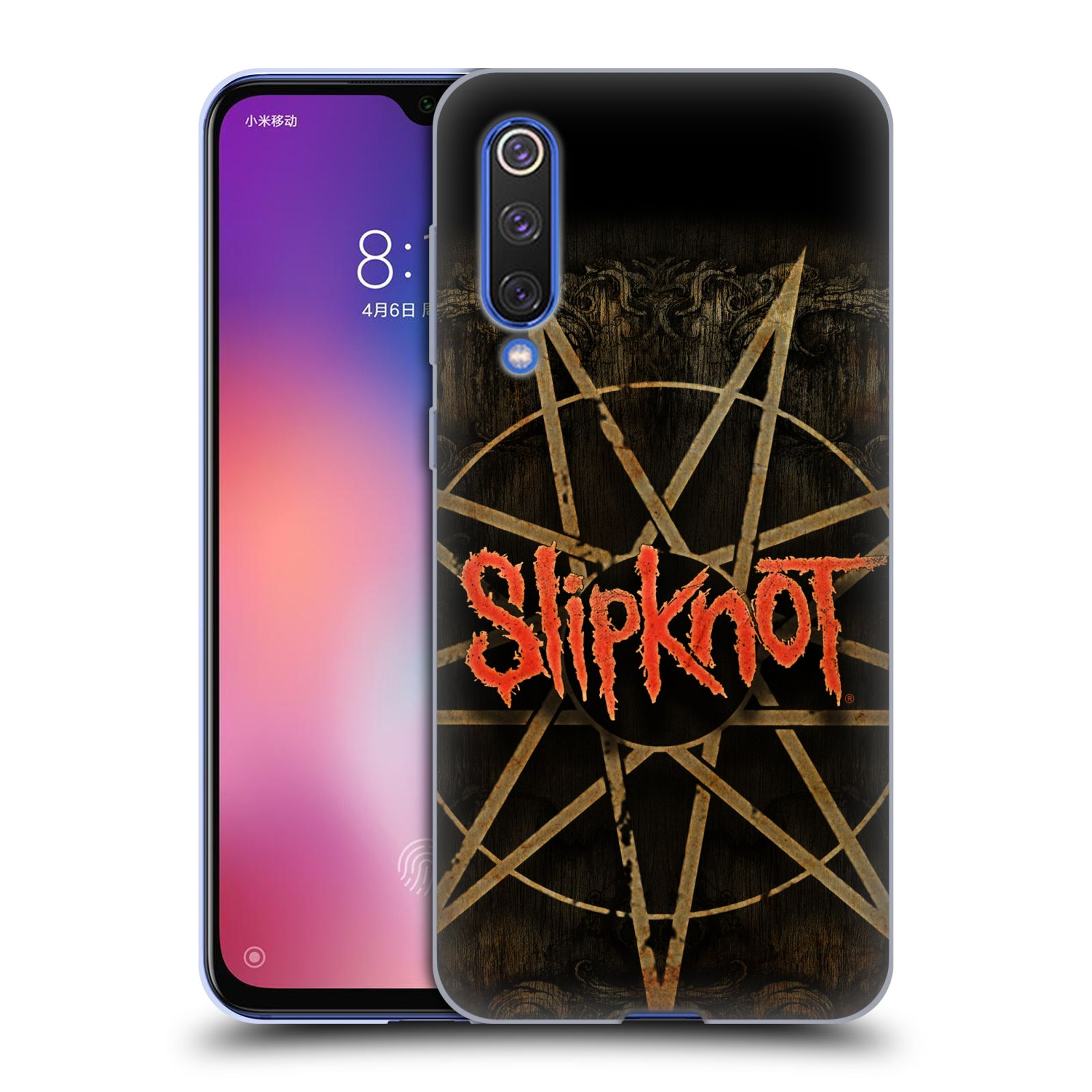 Silikonové pouzdro na mobil Xiaomi Mi 9 SE - Head Case - Slipknot - Znak