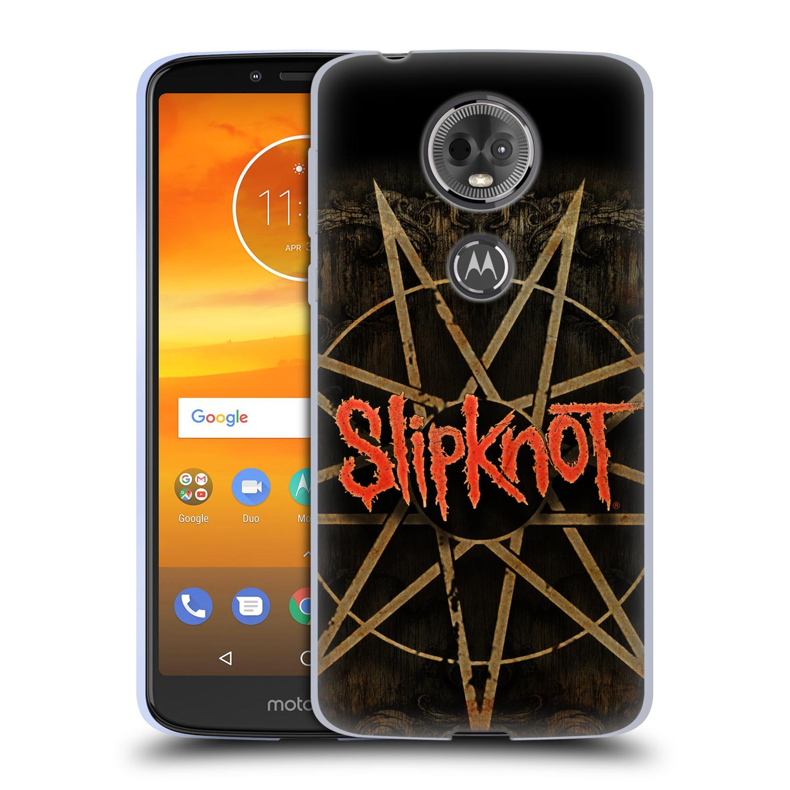 Silikonové pouzdro na mobil Motorola Moto E5 Plus - Head Case - Slipknot - Znak