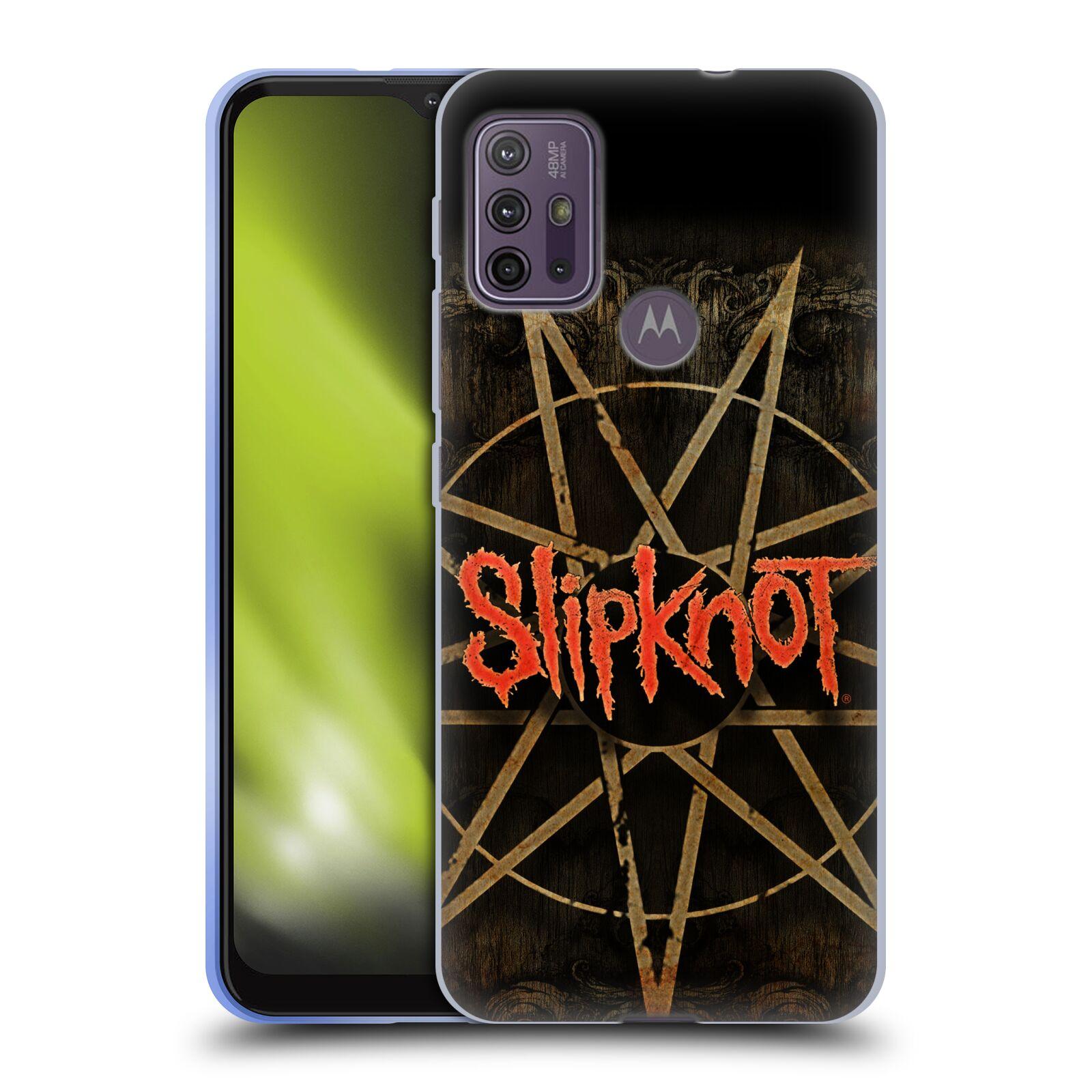 Silikonové pouzdro na mobil Motorola Moto G10 / G30 - Head Case - Slipknot - Znak