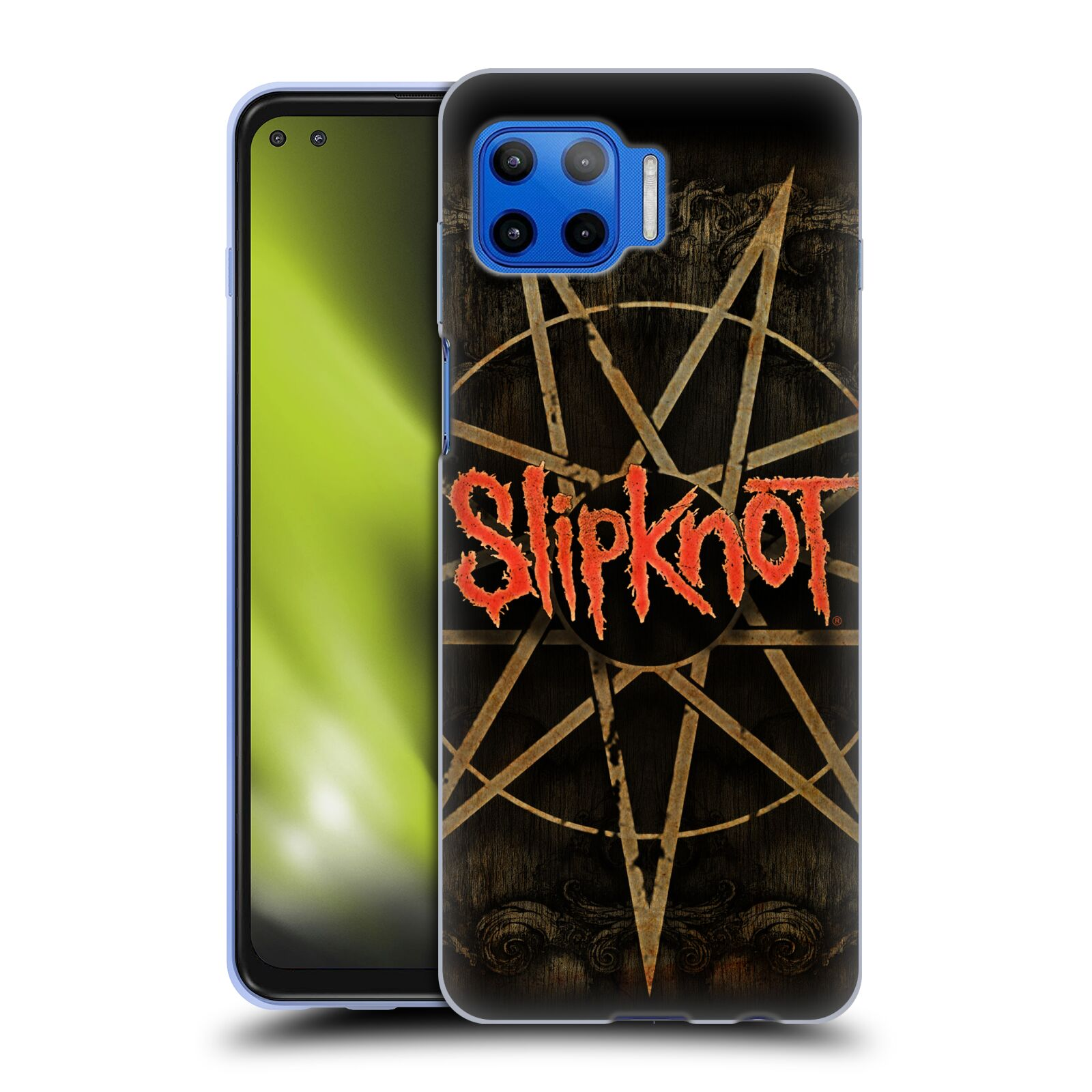 Silikonové pouzdro na mobil Motorola Moto G 5G Plus - Head Case - Slipknot - Znak