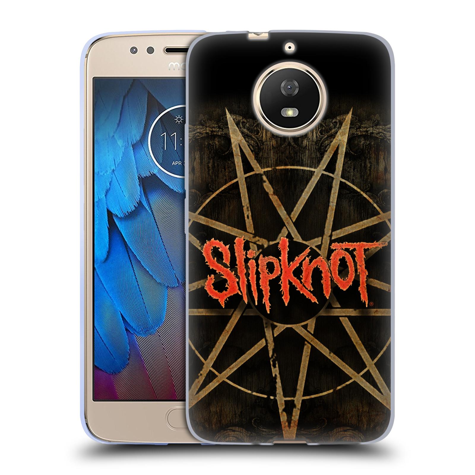 Silikonové pouzdro na mobil Lenovo Moto G5s - Head Case - Slipknot - Znak