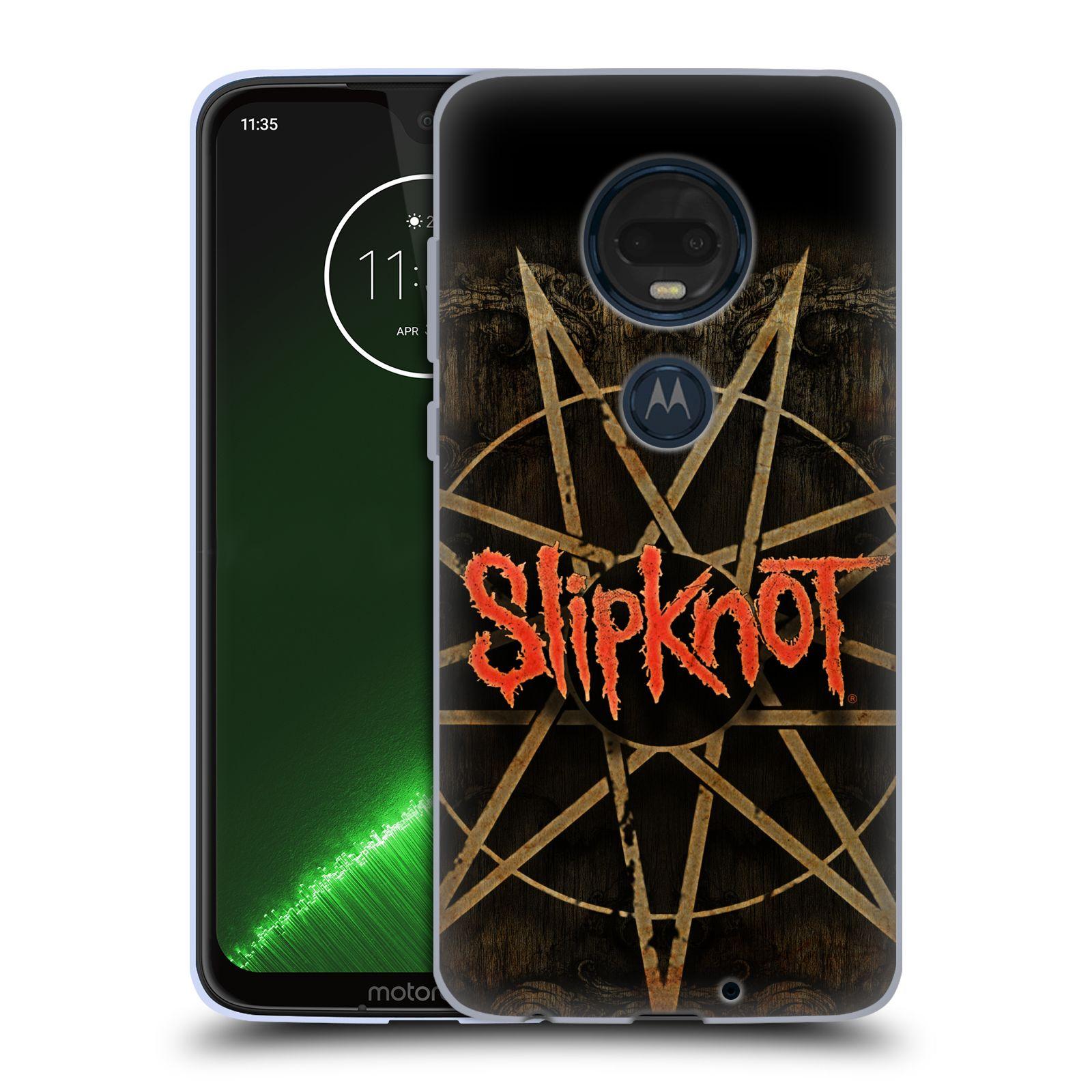 Silikonové pouzdro na mobil Motorola Moto G7 Plus - Head Case - Slipknot - Znak
