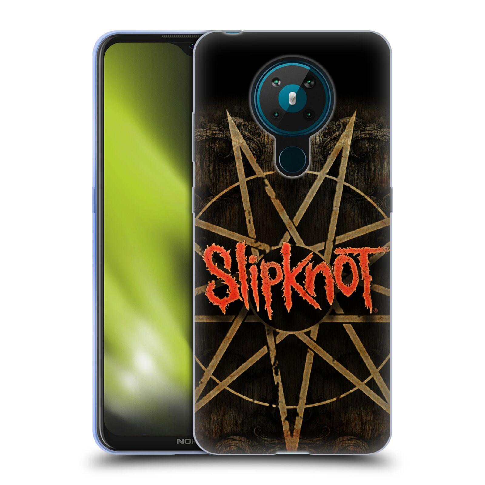 Silikonové pouzdro na mobil Nokia 5.3 - Head Case - Slipknot - Znak