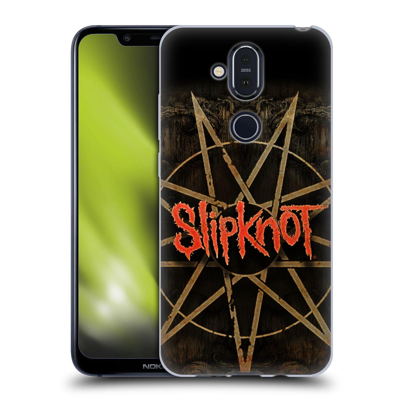 Silikonové pouzdro na mobil Nokia 8.1 - Head Case - Slipknot - Znak