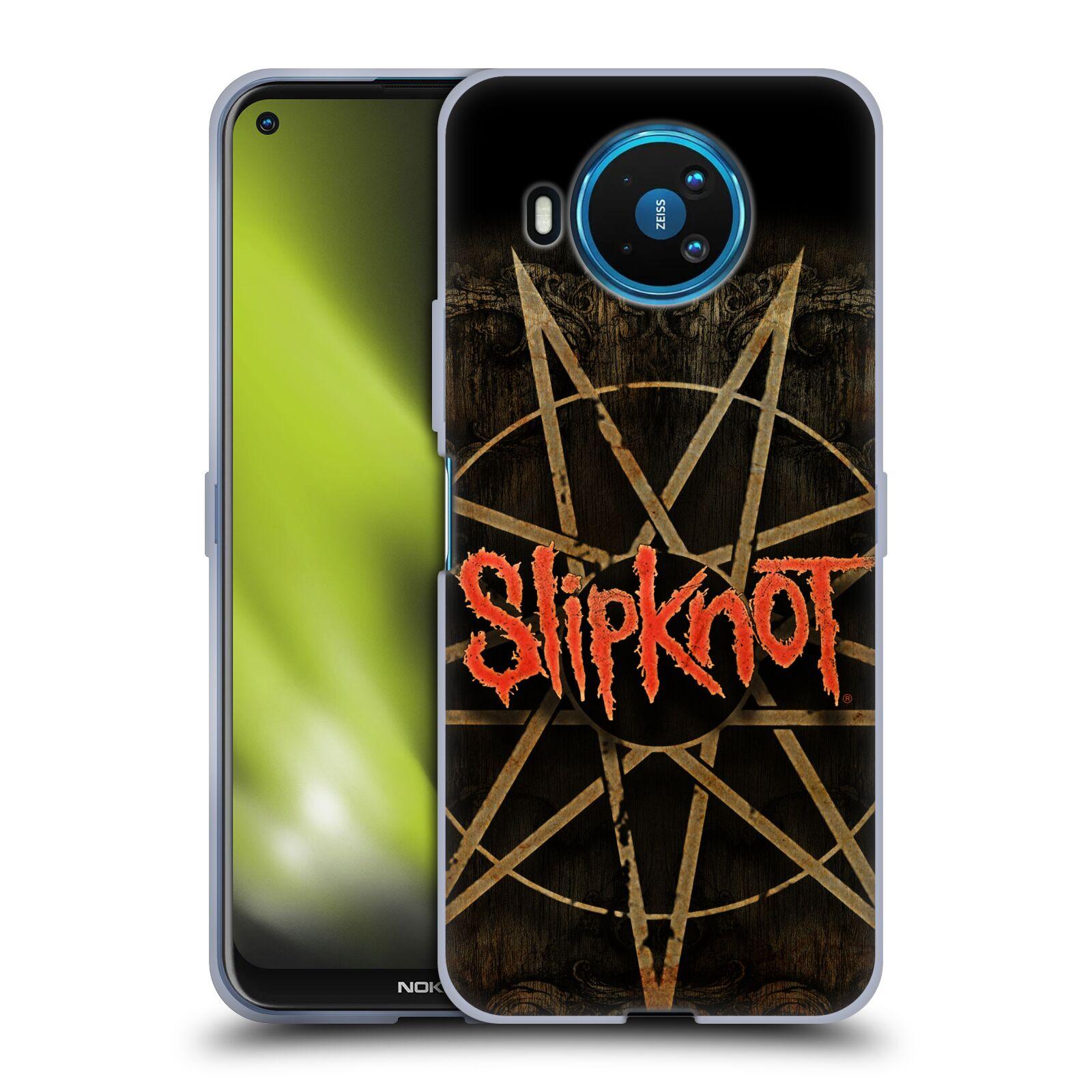 Silikonové pouzdro na mobil Nokia 8.3 5G - Head Case - Slipknot - Znak
