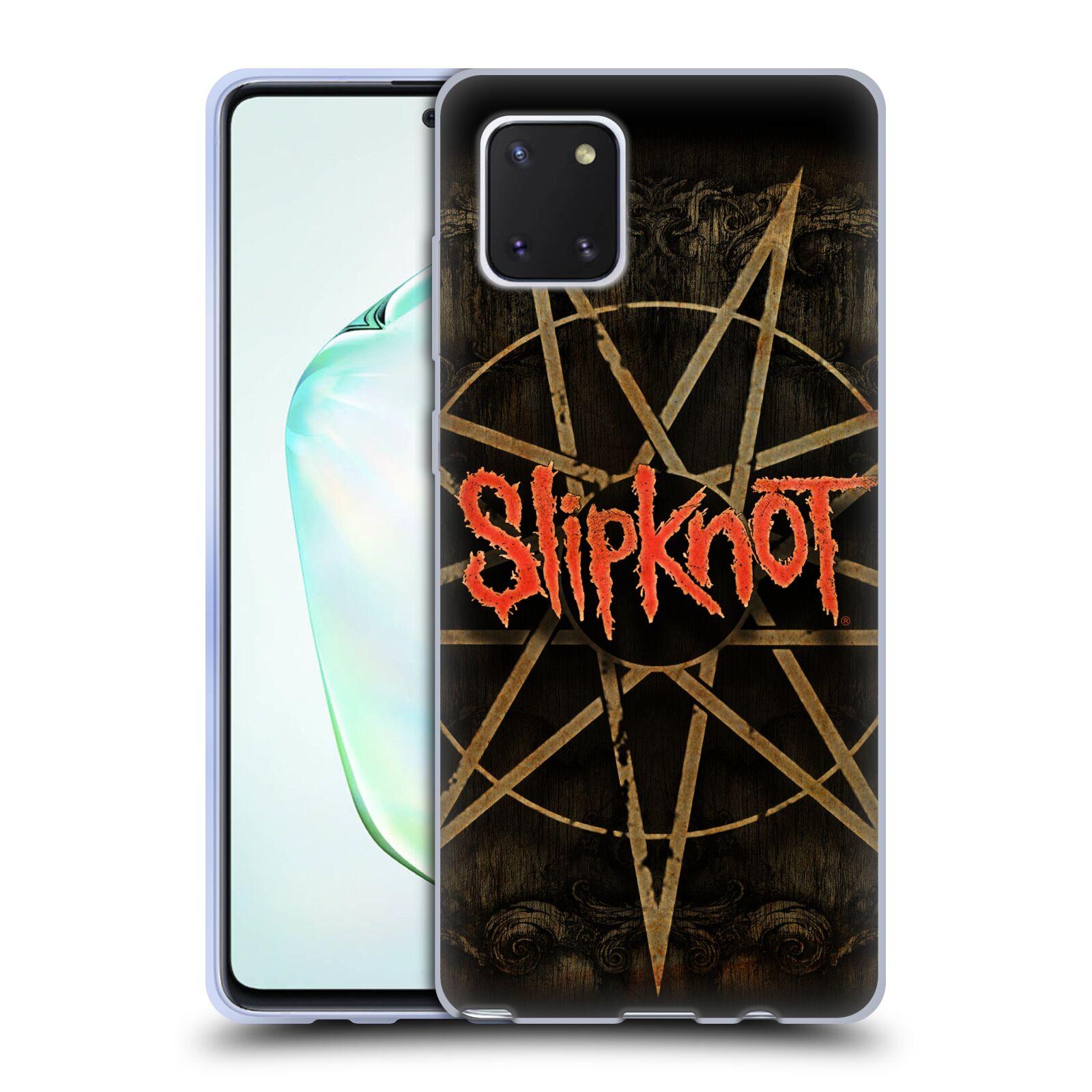 Silikonové pouzdro na mobil Samsung Galaxy Note 10 Lite - Head Case - Slipknot - Znak
