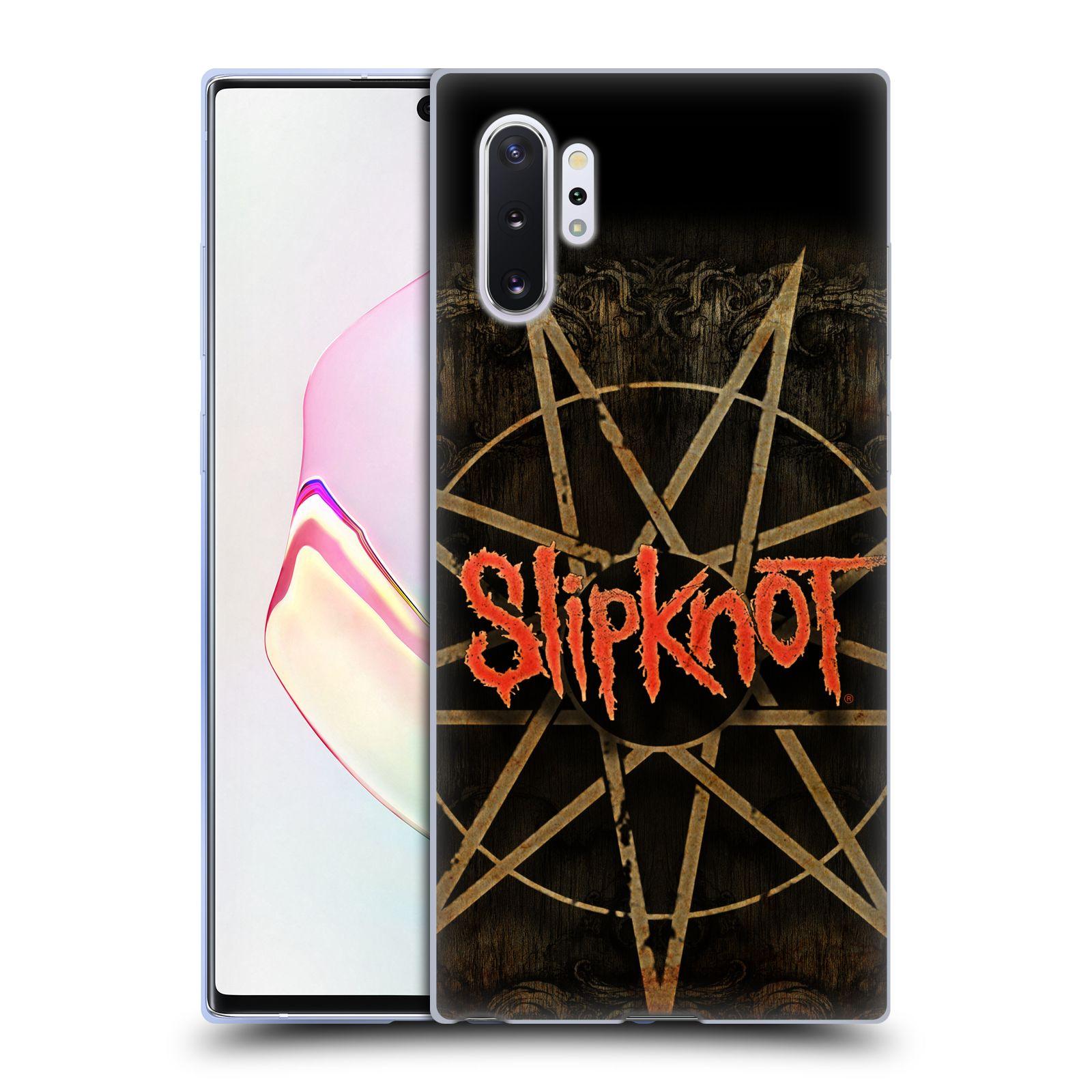 Silikonové pouzdro na mobil Samsung Galaxy Note 10 Plus - Head Case - Slipknot - Znak