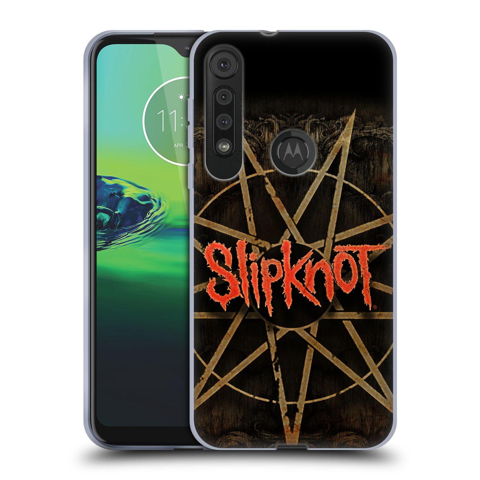 Silikonové pouzdro na mobil Motorola One Macro - Head Case - Slipknot - Znak