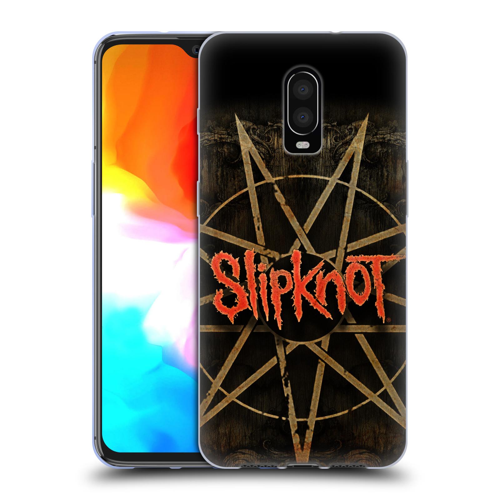 Silikonové pouzdro na mobil OnePlus 6T - Head Case - Slipknot - Znak