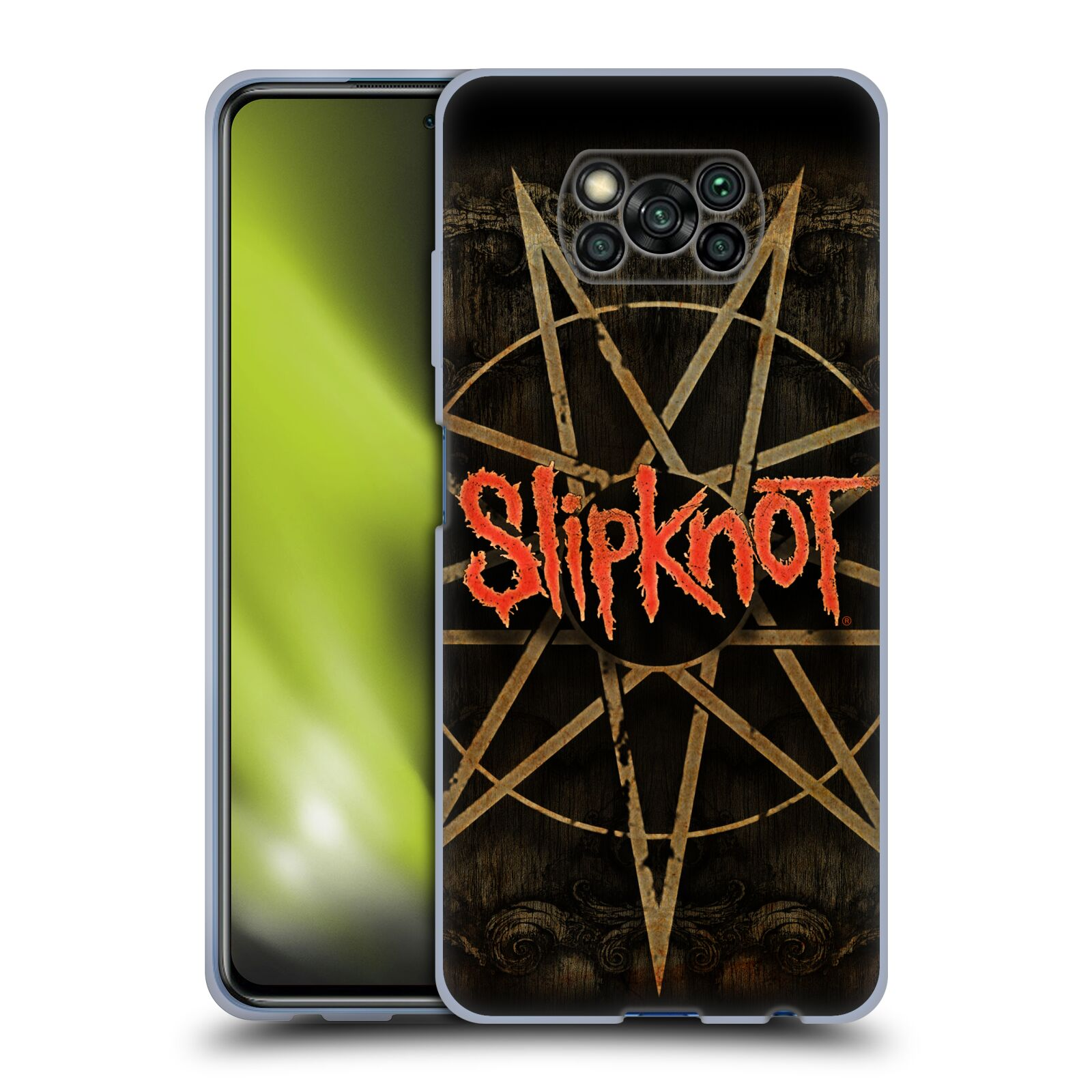 Silikonové pouzdro na mobil Xiaomi Poco X3 NFC - Head Case - Slipknot - Znak