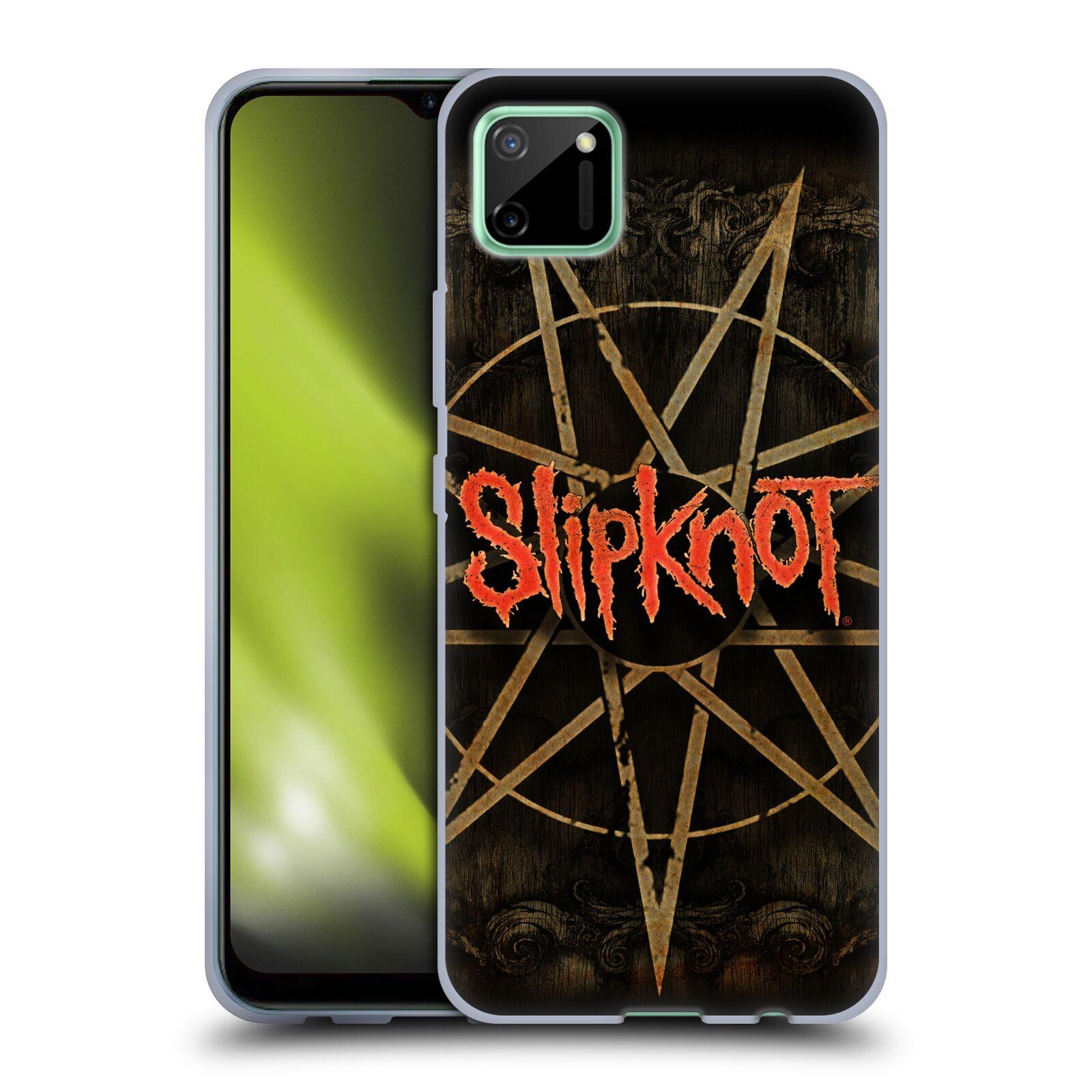 Silikonové pouzdro na mobil Realme C11 - Head Case - Slipknot - Znak