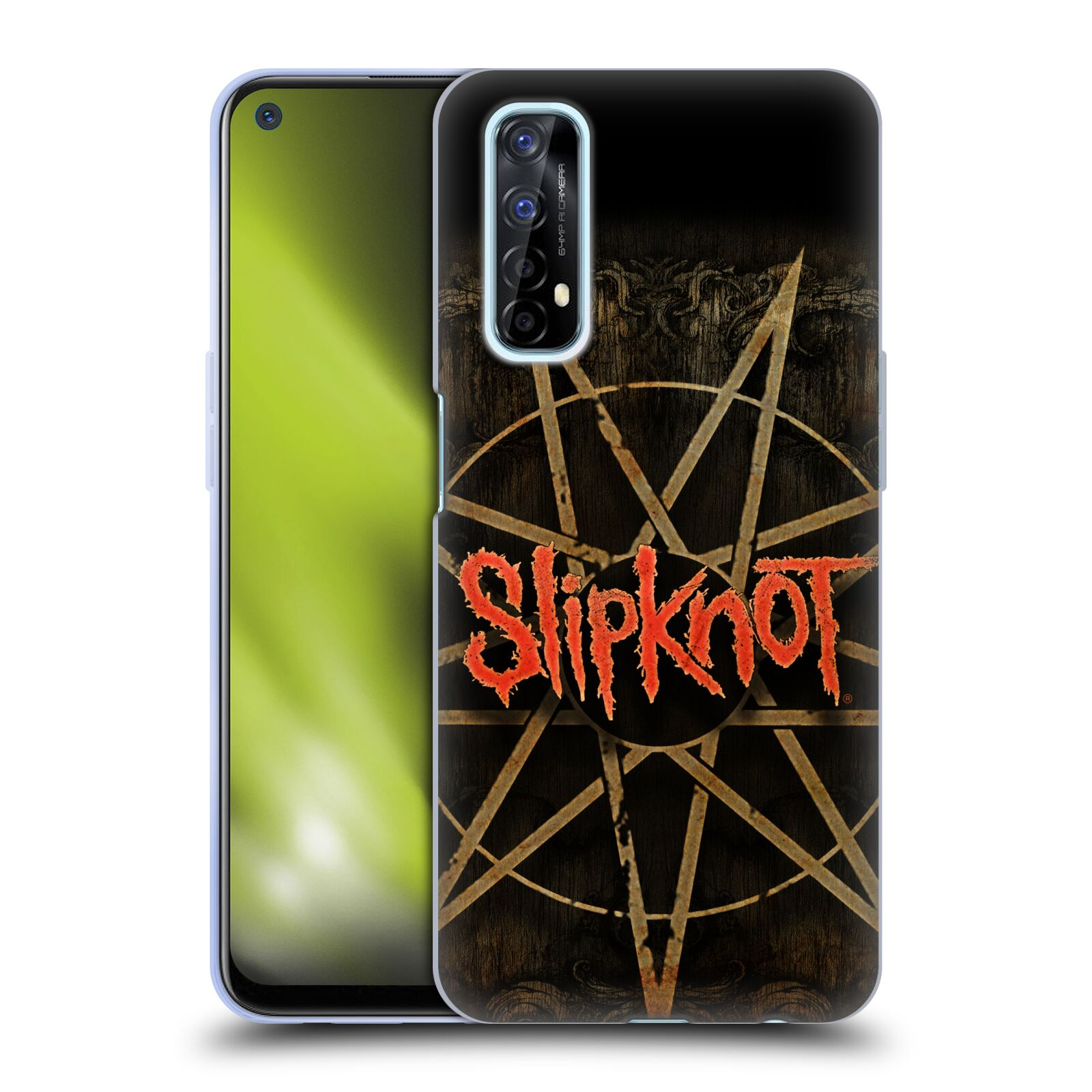 Silikonové pouzdro na mobil Realme 7 - Head Case - Slipknot - Znak