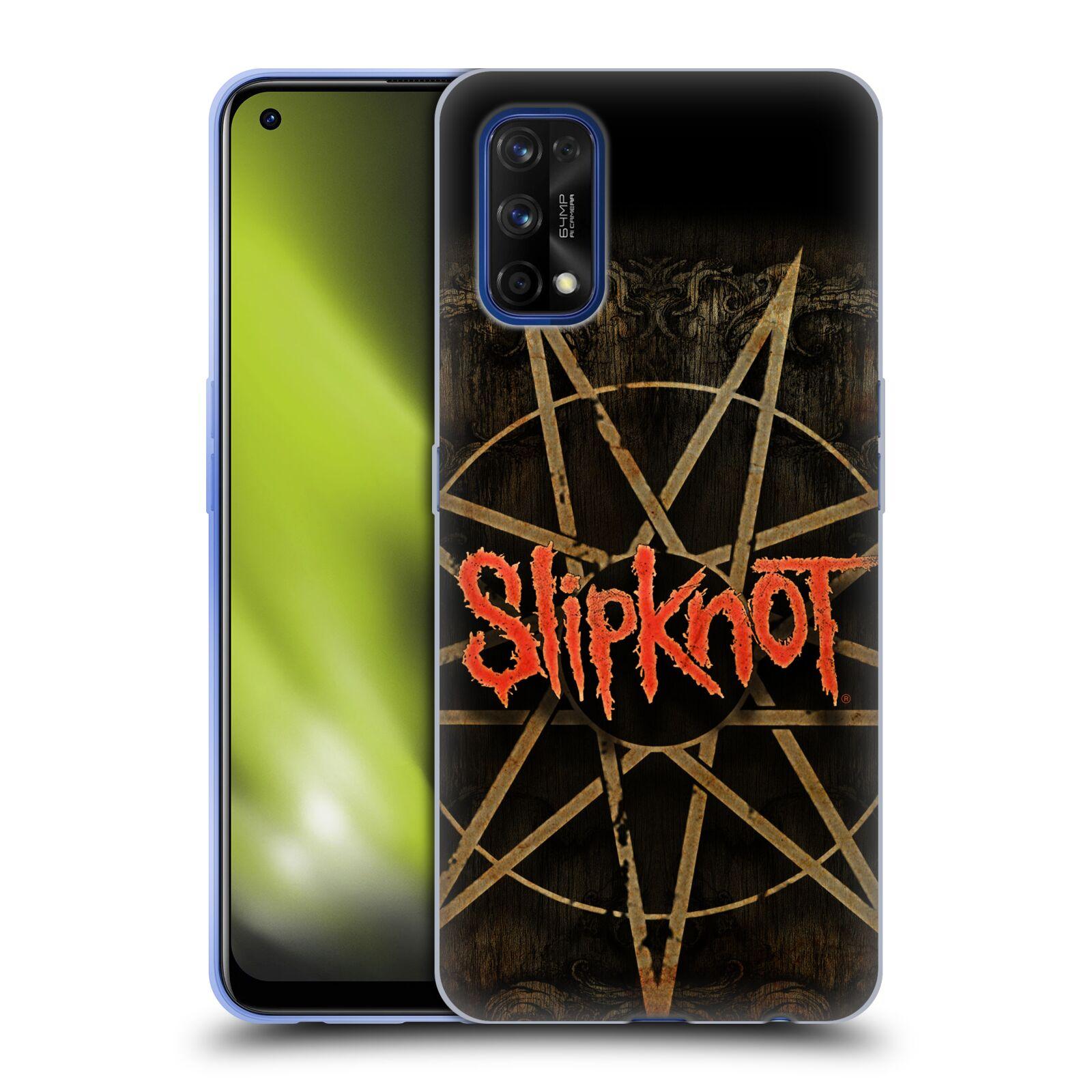 Silikonové pouzdro na mobil Realme 7 Pro - Head Case - Slipknot - Znak
