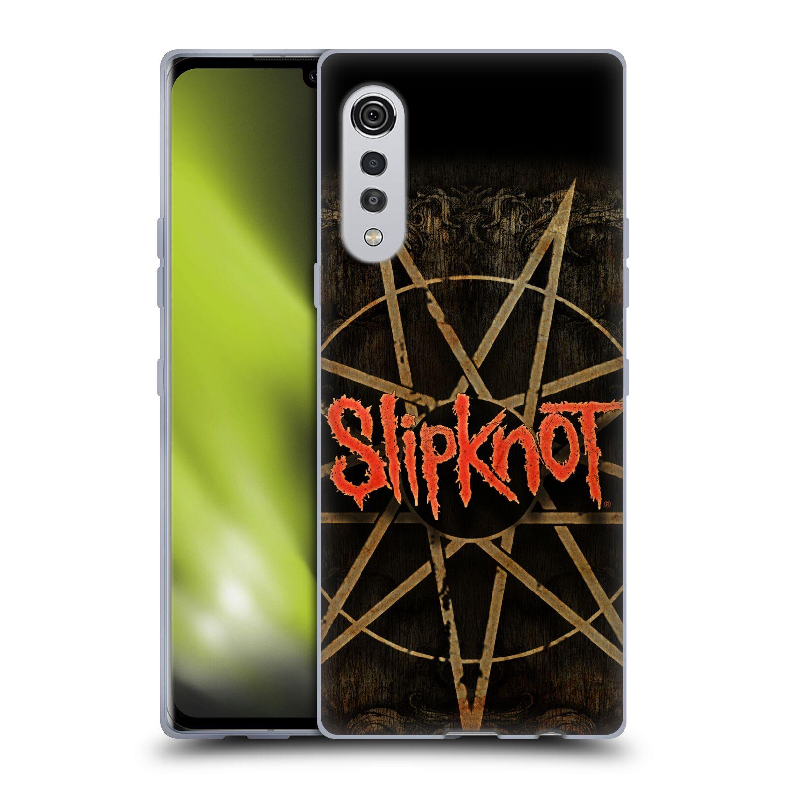 Silikonové pouzdro na mobil LG Velvet - Head Case - Slipknot - Znak