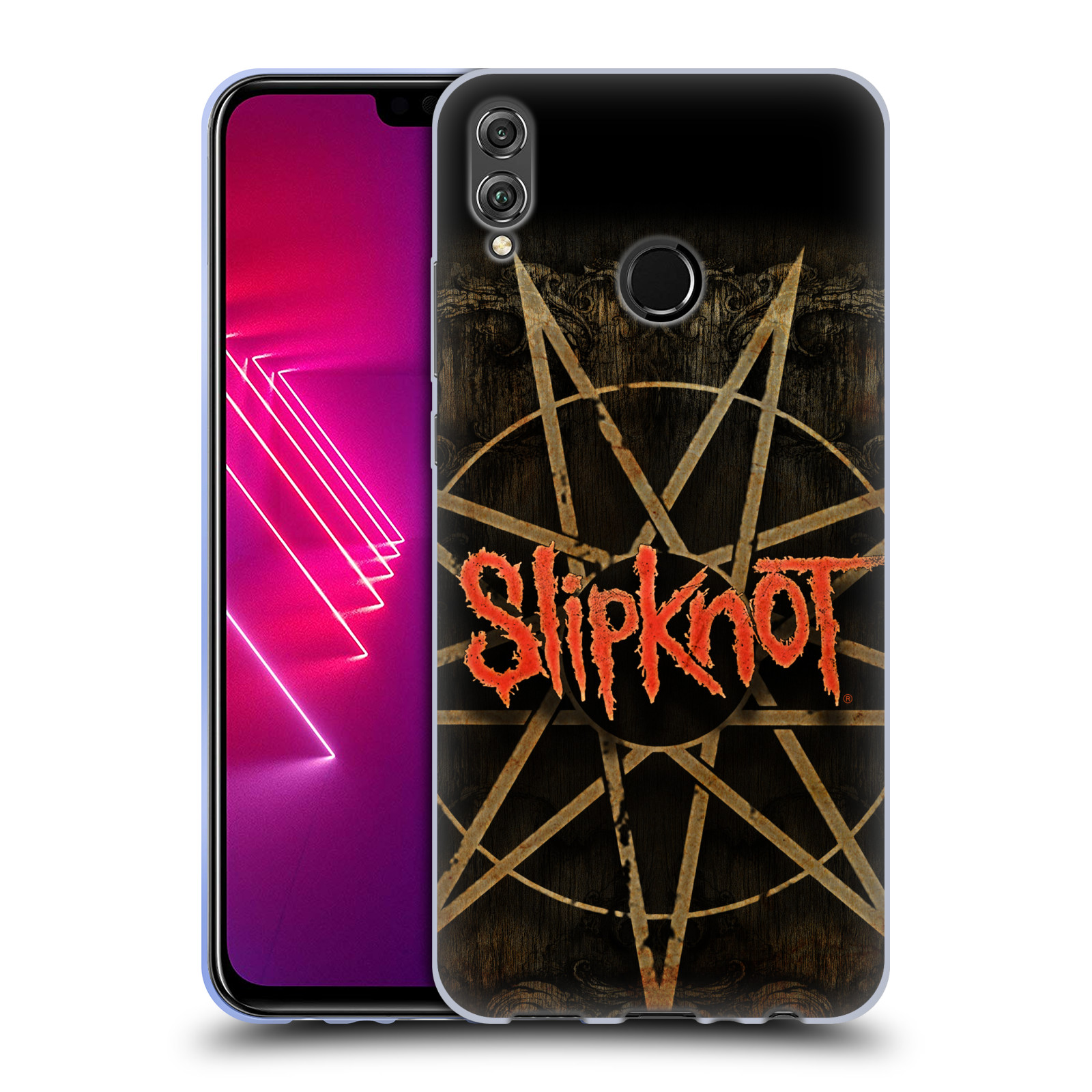 Silikonové pouzdro na mobil Honor View 10 Lite - Head Case - Slipknot - Znak