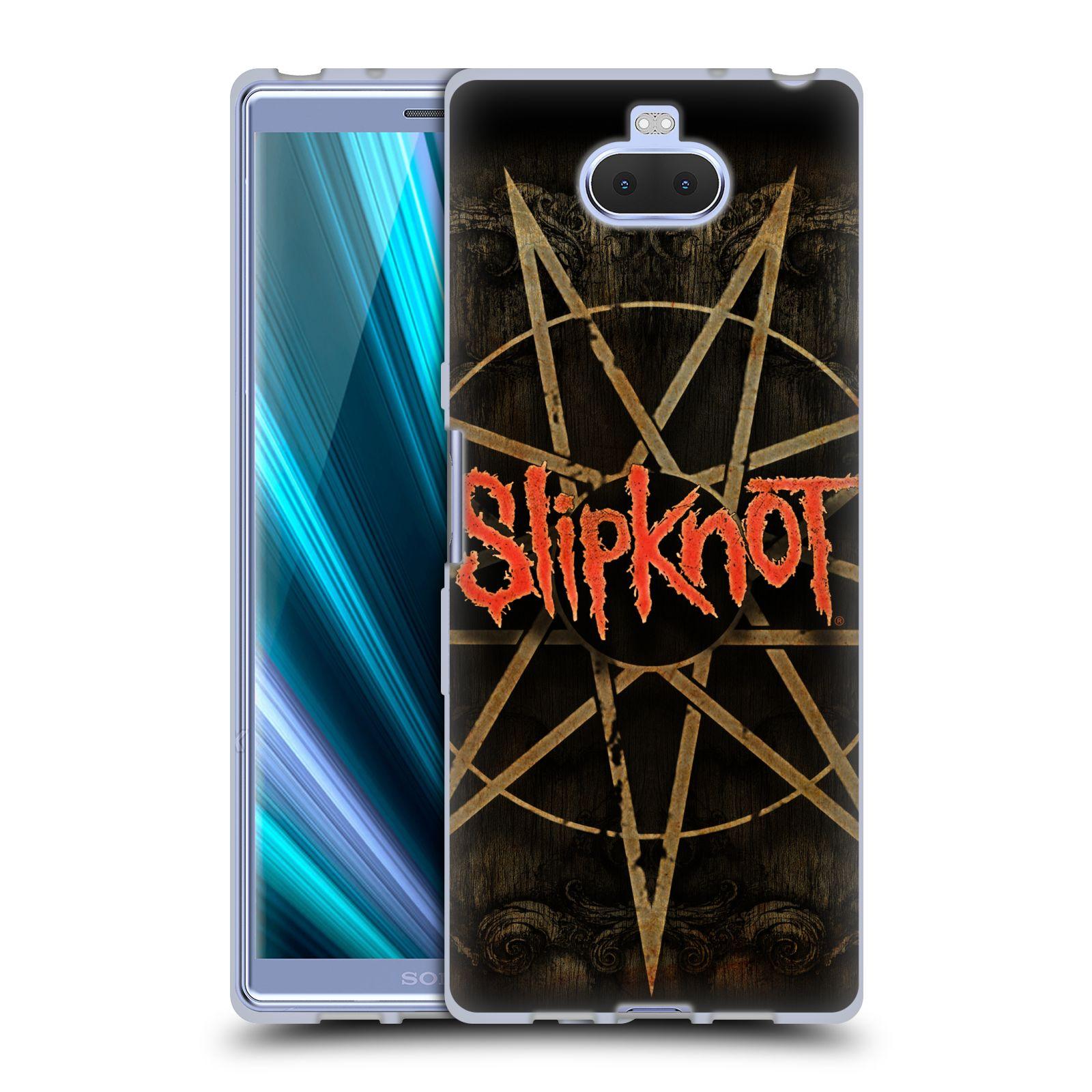 Silikonové pouzdro na mobil Sony Xperia 10 - Head Case - Slipknot - Znak