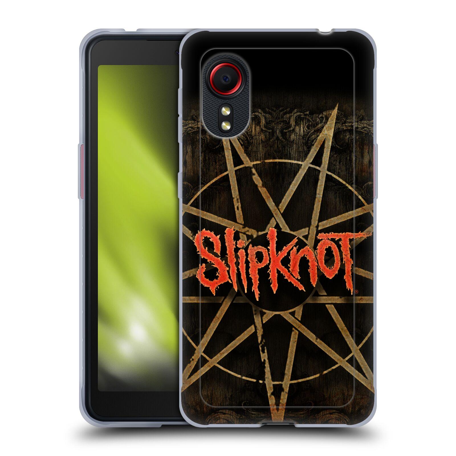 Silikonové pouzdro na mobil Samsung Galaxy Xcover 5 - Head Case - Slipknot - Znak