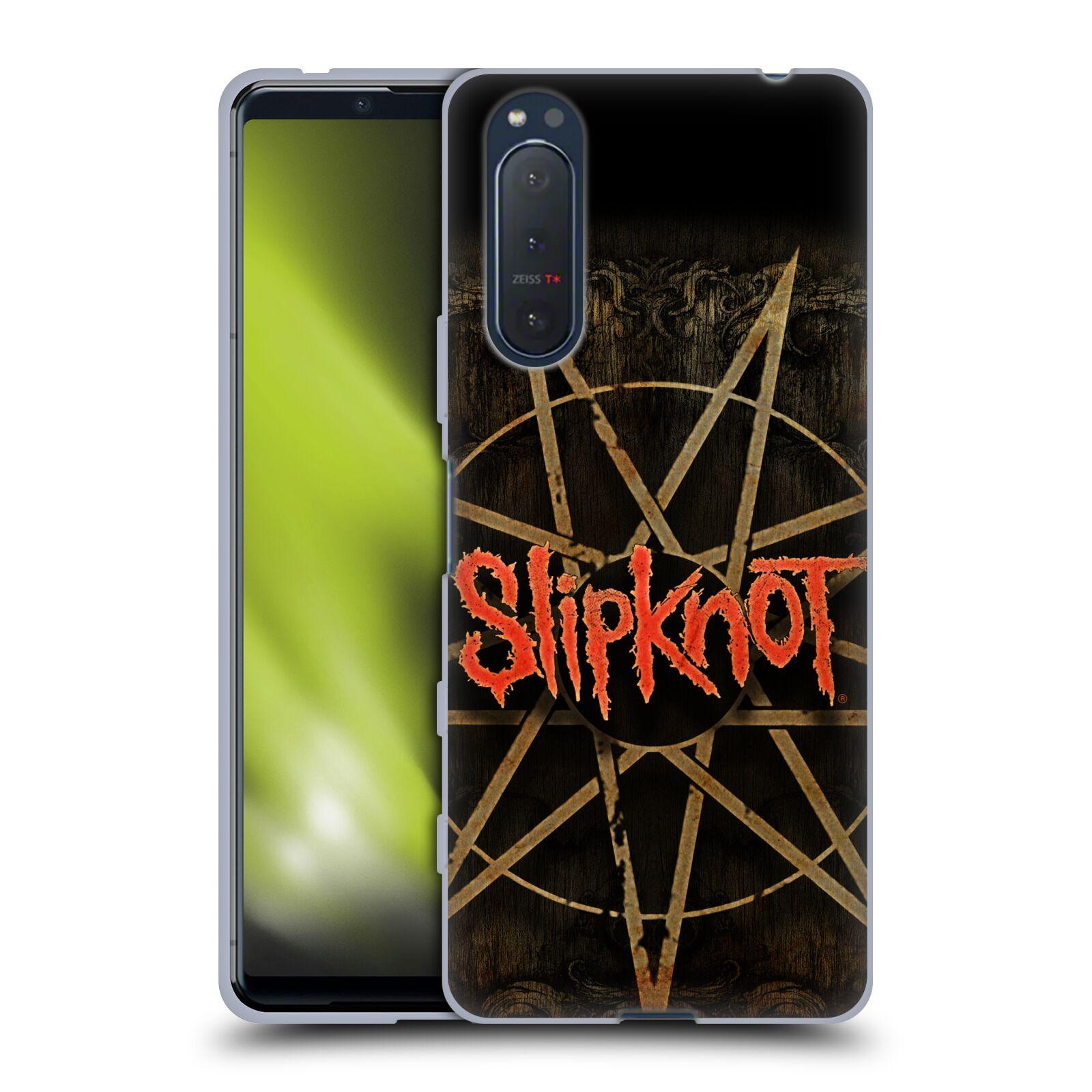 Silikonové pouzdro na mobil Sony Xperia 5 II - Head Case - Slipknot - Znak
