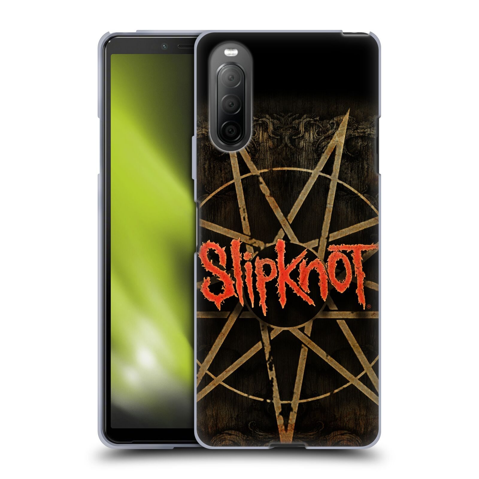 Silikonové pouzdro na mobil Sony Xperia 10 II - Head Case - Slipknot - Znak