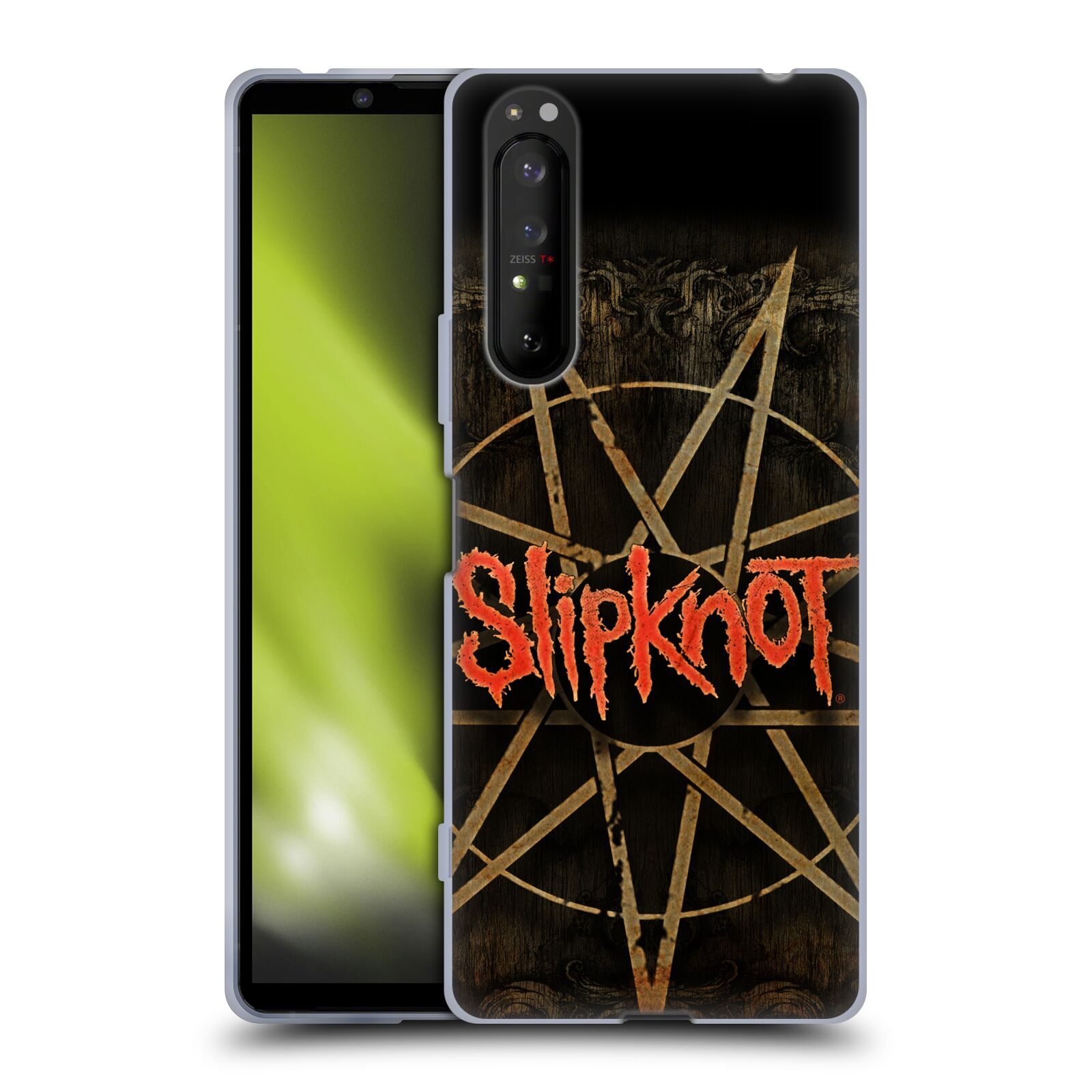 Silikonové pouzdro na mobil Sony Xperia 1 II - Head Case - Slipknot - Znak