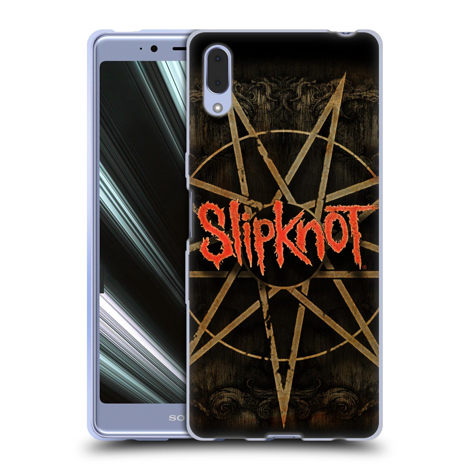 Silikonové pouzdro na mobil Sony Xperia L3 - Head Case - Slipknot - Znak