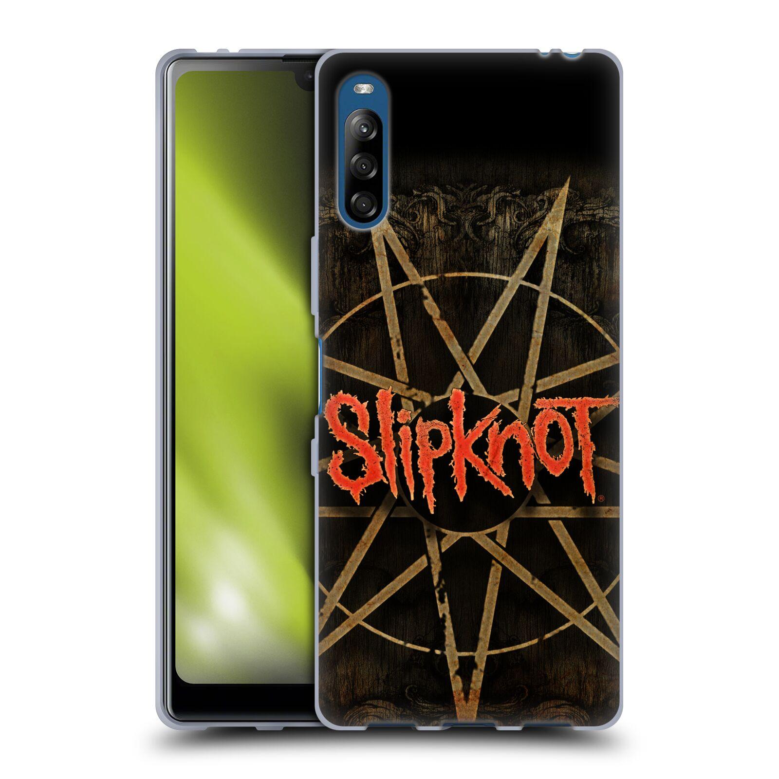 Silikonové pouzdro na mobil Sony Xperia L4 - Head Case - Slipknot - Znak