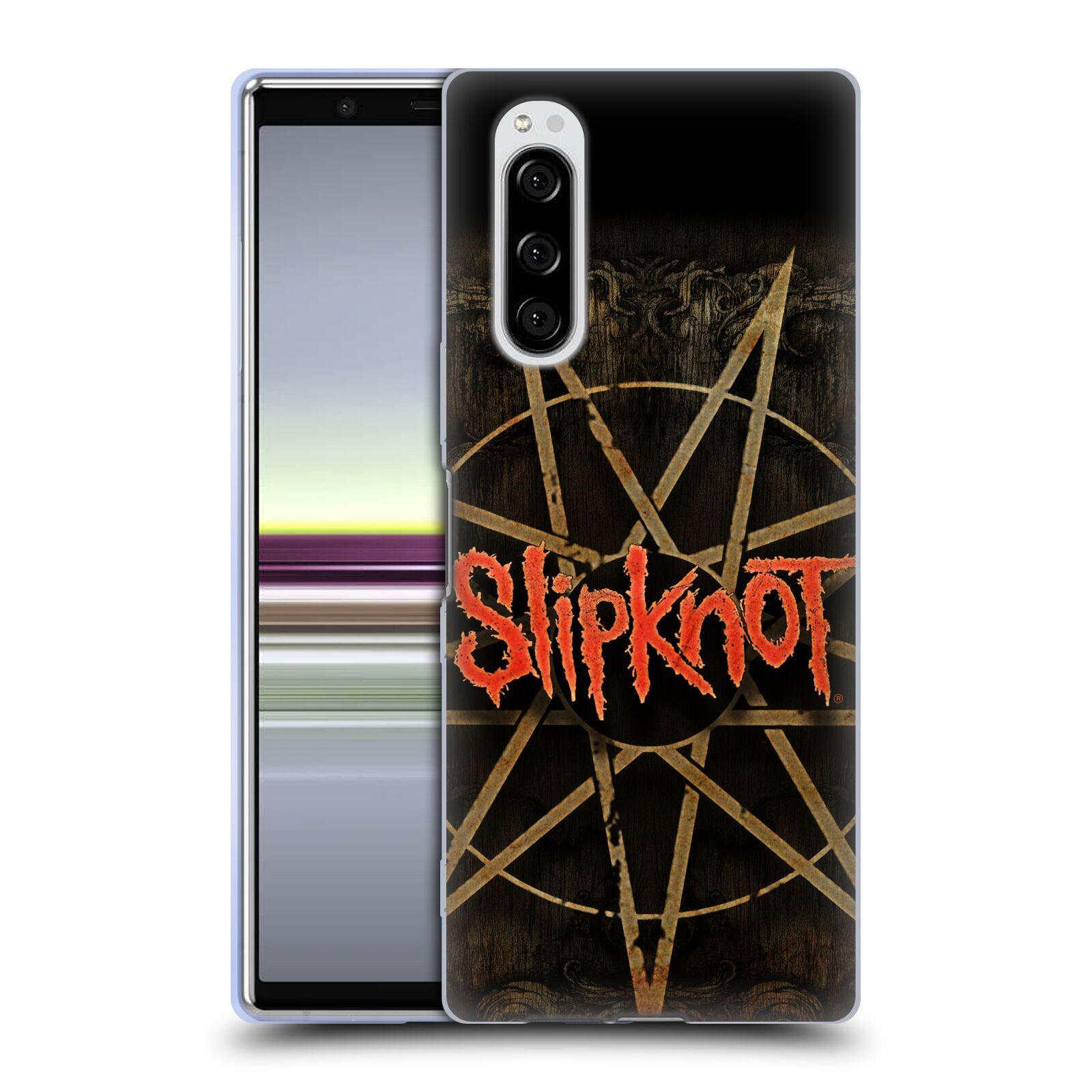 Silikonové pouzdro na mobil Sony Xperia 5 - Head Case - Slipknot - Znak