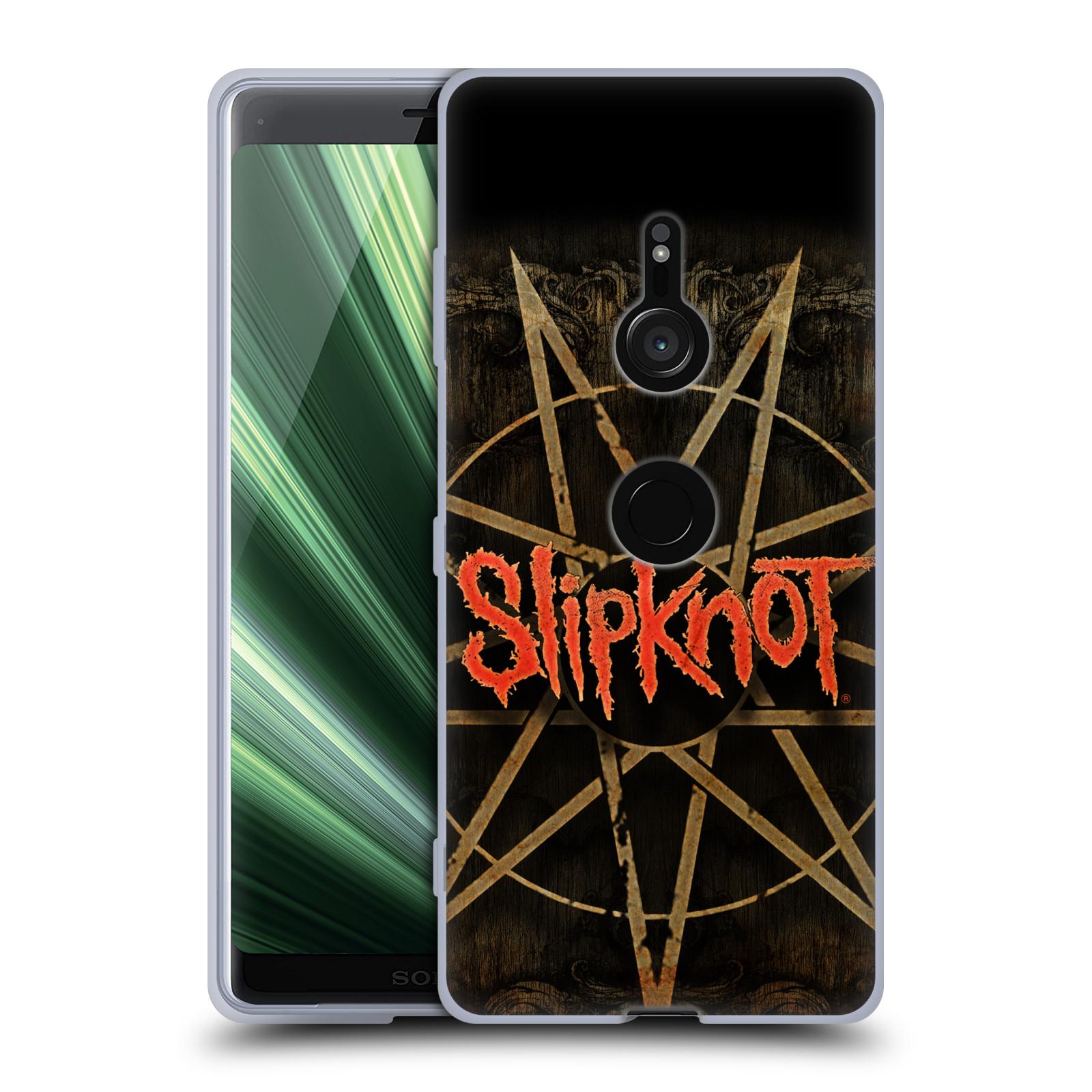 Silikonové pouzdro na mobil Sony Xperia XZ3 - Head Case - Slipknot - Znak