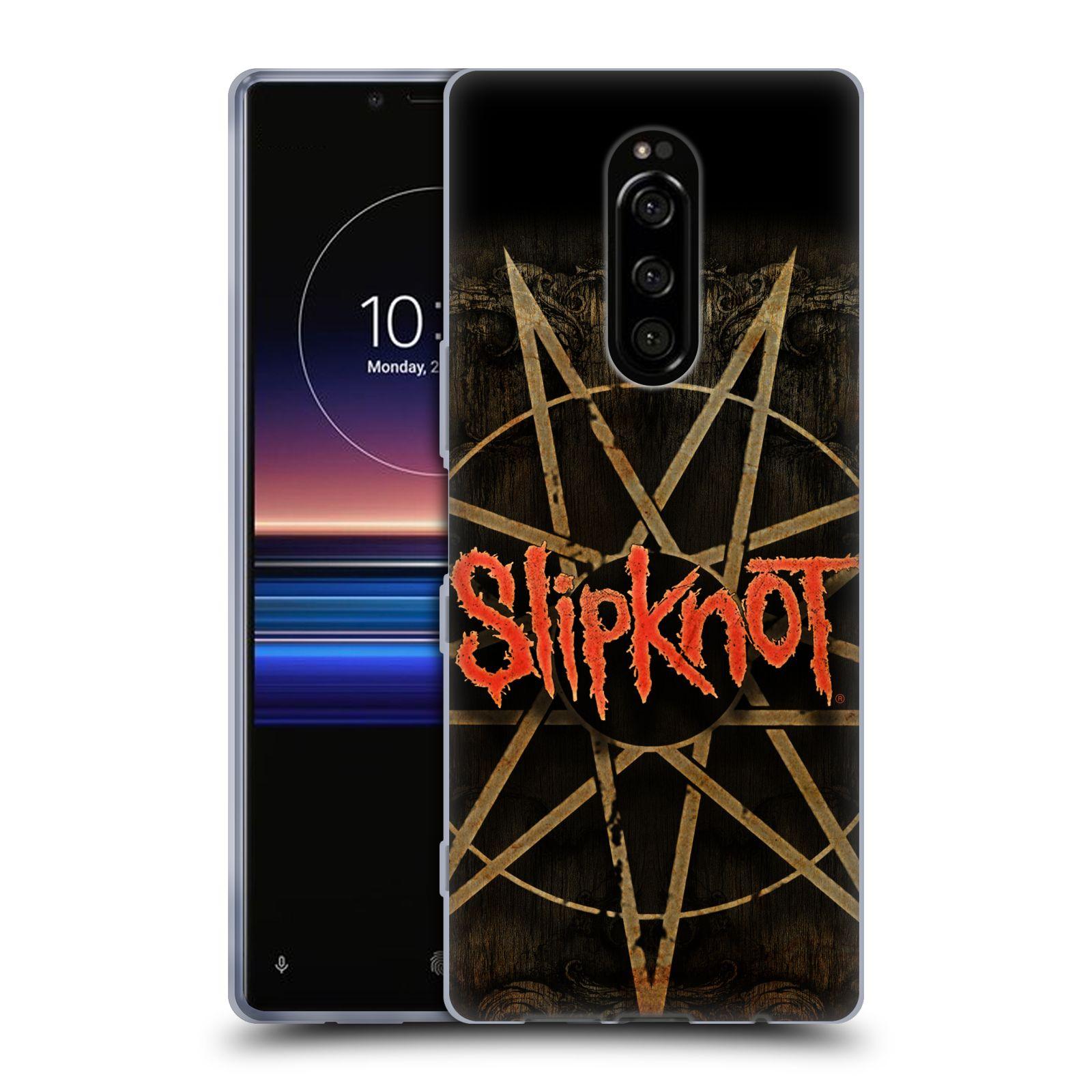 Silikonové pouzdro na mobil Sony Xperia 1 - Head Case - Slipknot - Znak