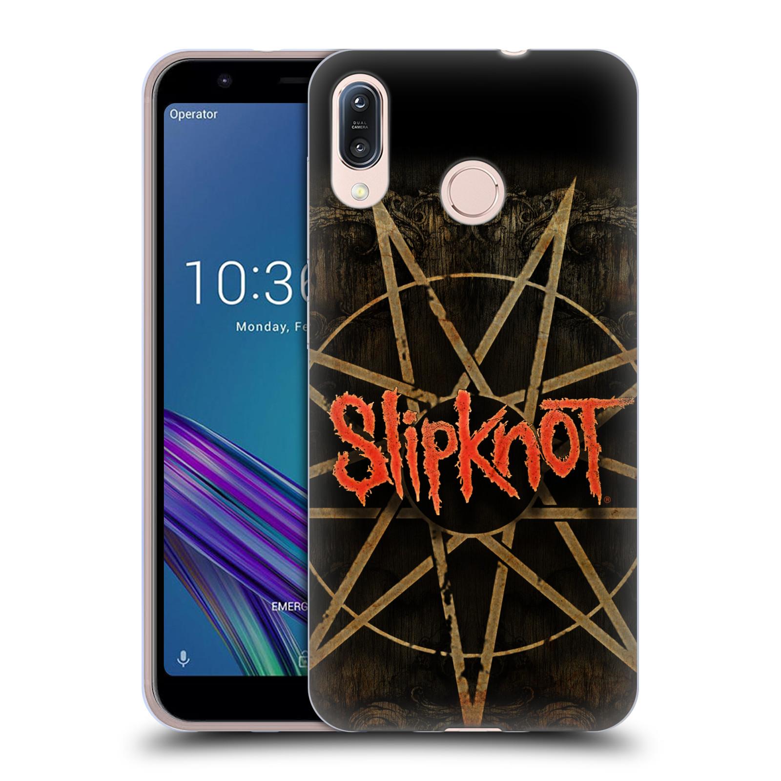 Silikonové pouzdro na mobil Asus Zenfone Max M1 ZB555KL - Head Case - Slipknot - Znak