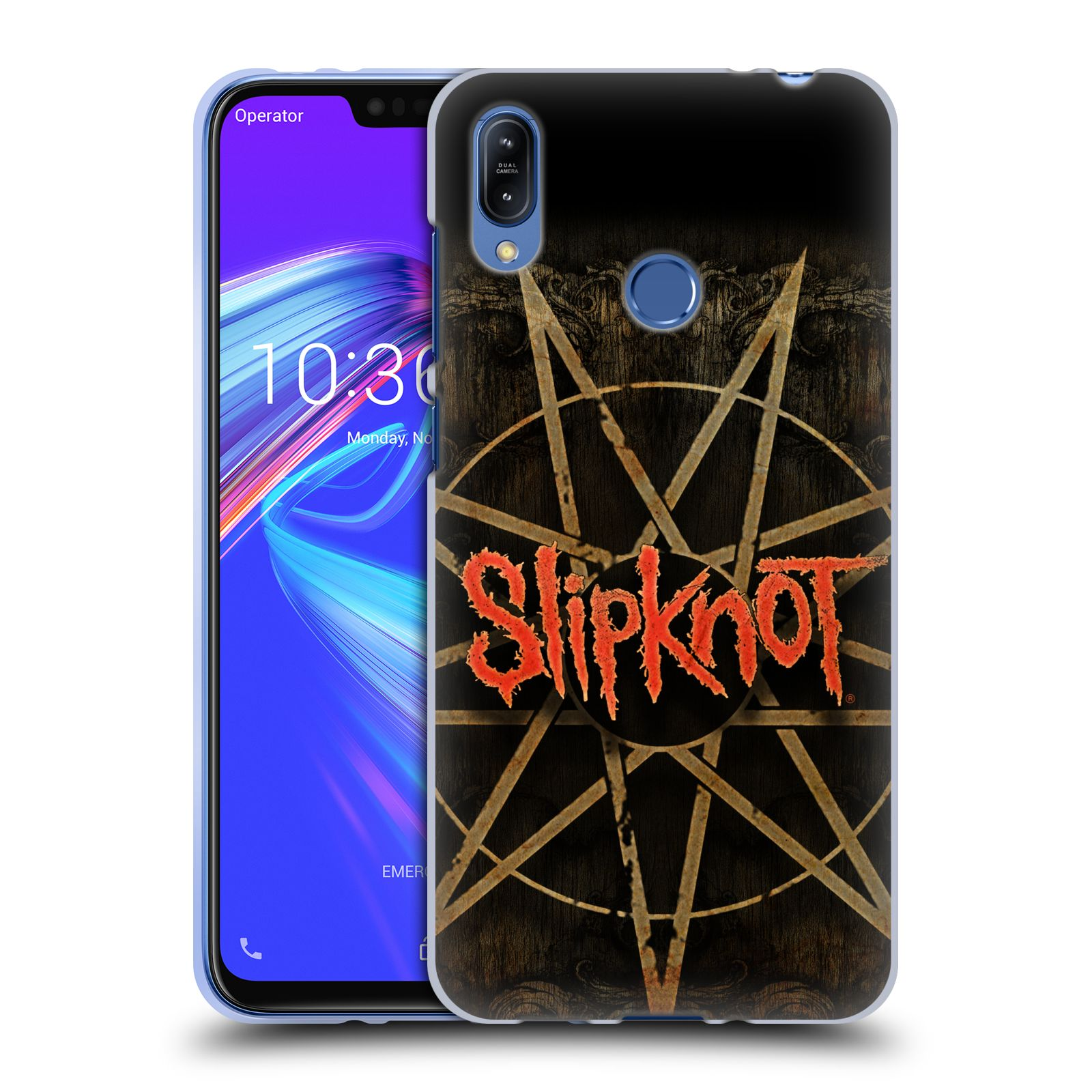 Silikonové pouzdro na mobil Asus Zenfone Max (M2) ZB633KL - Head Case - Slipknot - Znak