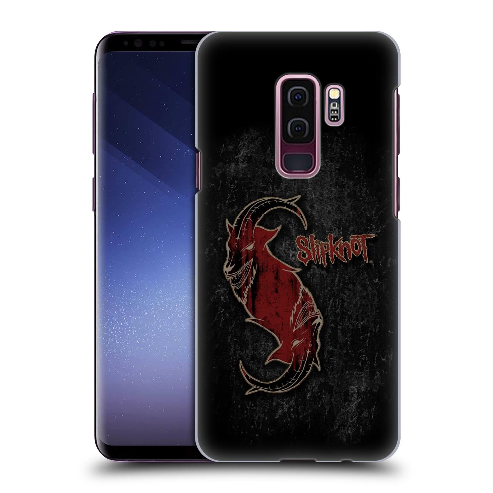 Plastové pouzdro na mobil Samsung Galaxy S9 Plus - Head Case - Slipknot - Rudý kozel