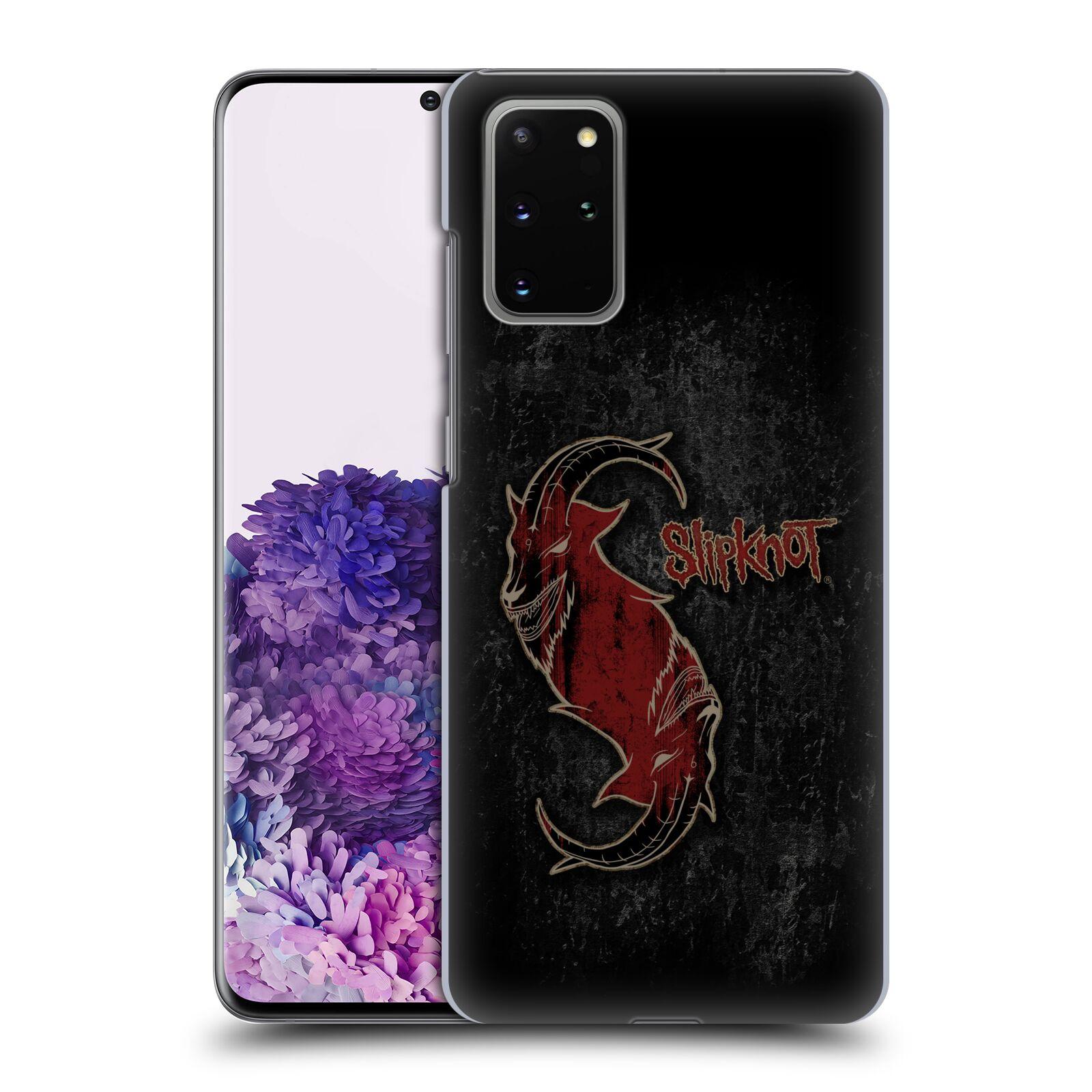 Plastové pouzdro na mobil Samsung Galaxy S20 Plus - Head Case - Slipknot - Rudý kozel