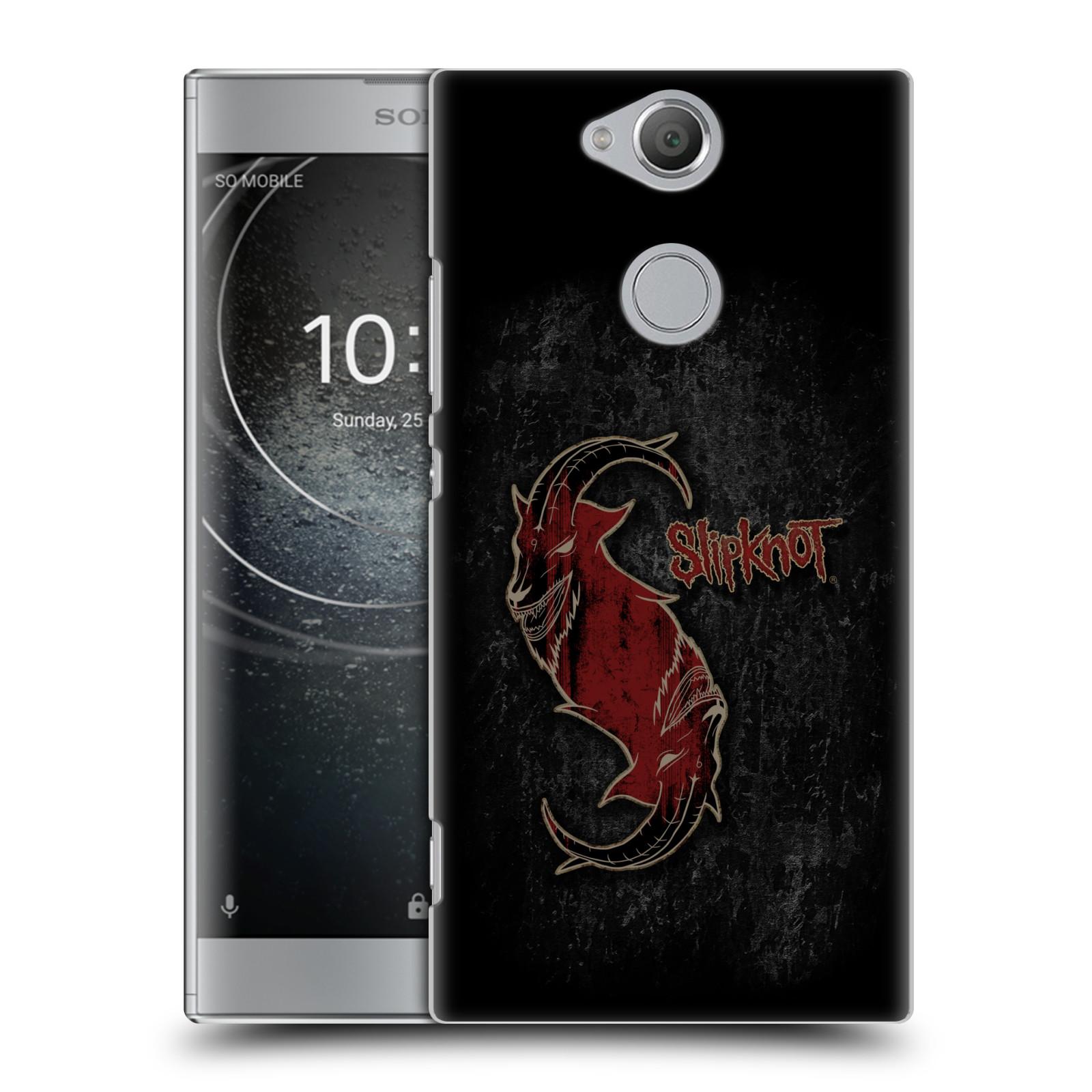 Plastové pouzdro na mobil Sony Xperia XA2 - Head Case - Slipknot - Rudý kozel
