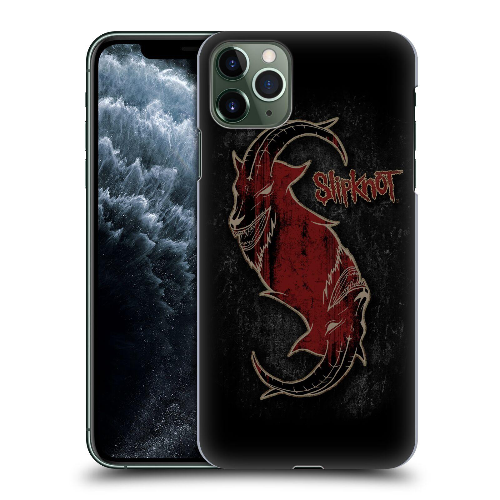 Plastové pouzdro na mobil Apple iPhone 11 Pro Max - Head Case - Slipknot - Rudý kozel