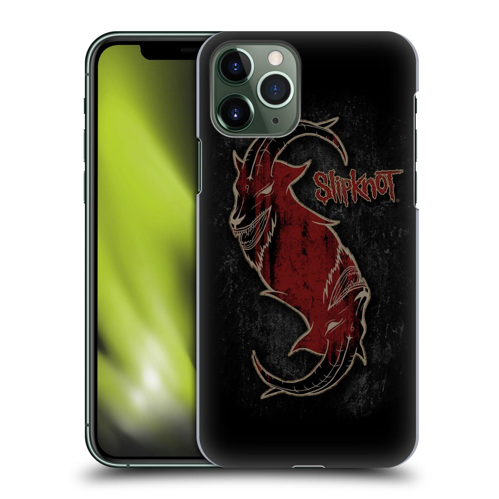 Plastové pouzdro na mobil Apple iPhone 11 Pro - Head Case - Slipknot - Rudý kozel