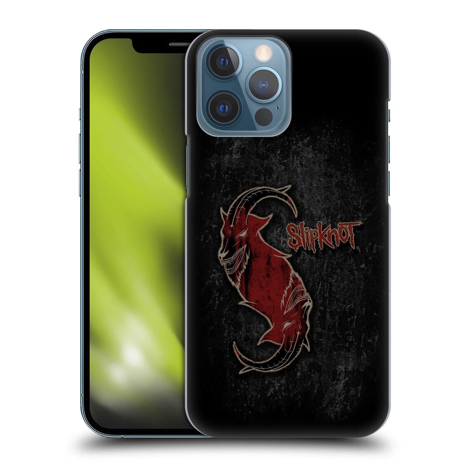 Plastové pouzdro na mobil Apple iPhone 13 Pro Max - Head Case - Slipknot - Rudý kozel