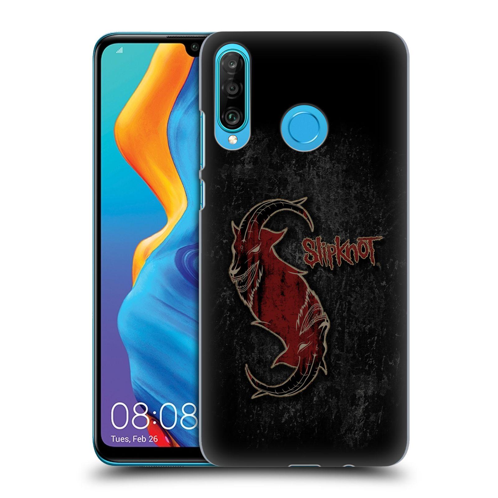Plastové pouzdro na mobil Huawei P30 Lite - Head Case - Slipknot - Rudý kozel