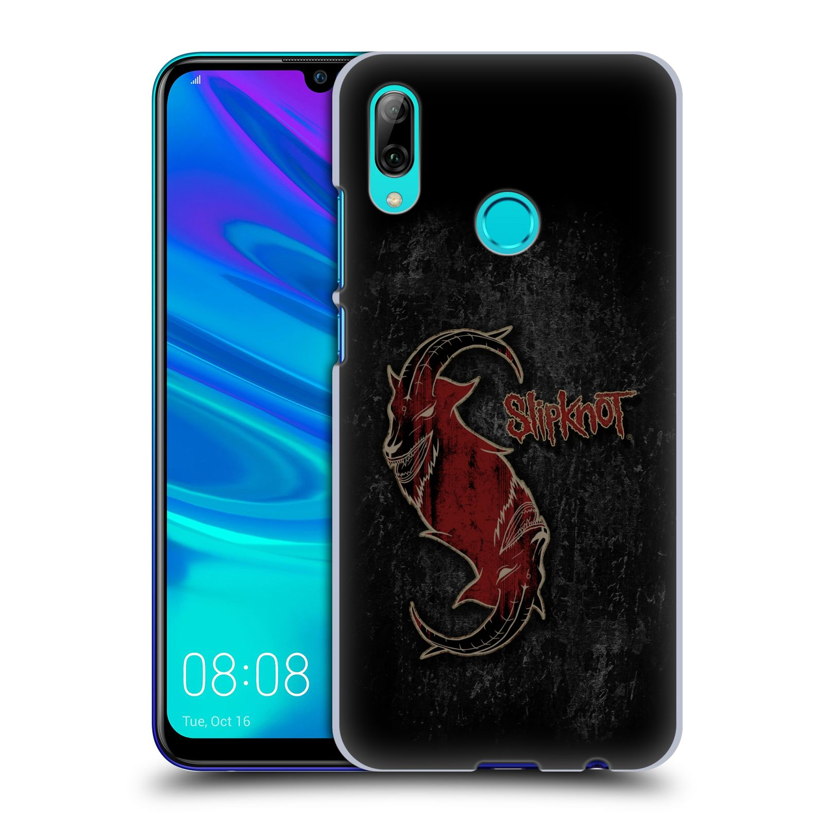 Plastové pouzdro na mobil Honor 10 Lite - Head Case - Slipknot - Rudý kozel