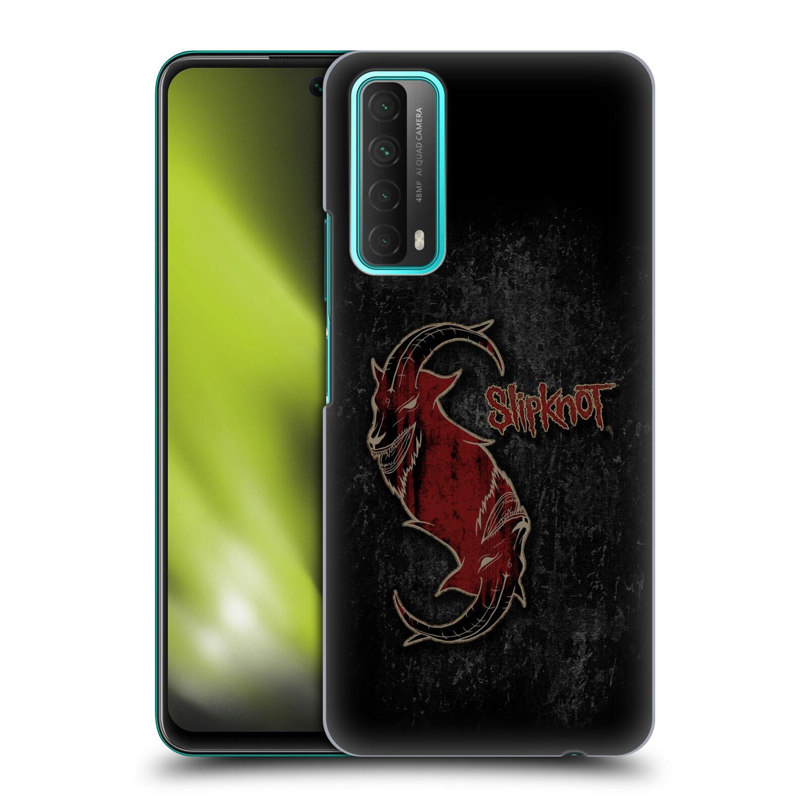 Plastové pouzdro na mobil Huawei P Smart (2021) - Head Case - Slipknot - Rudý kozel