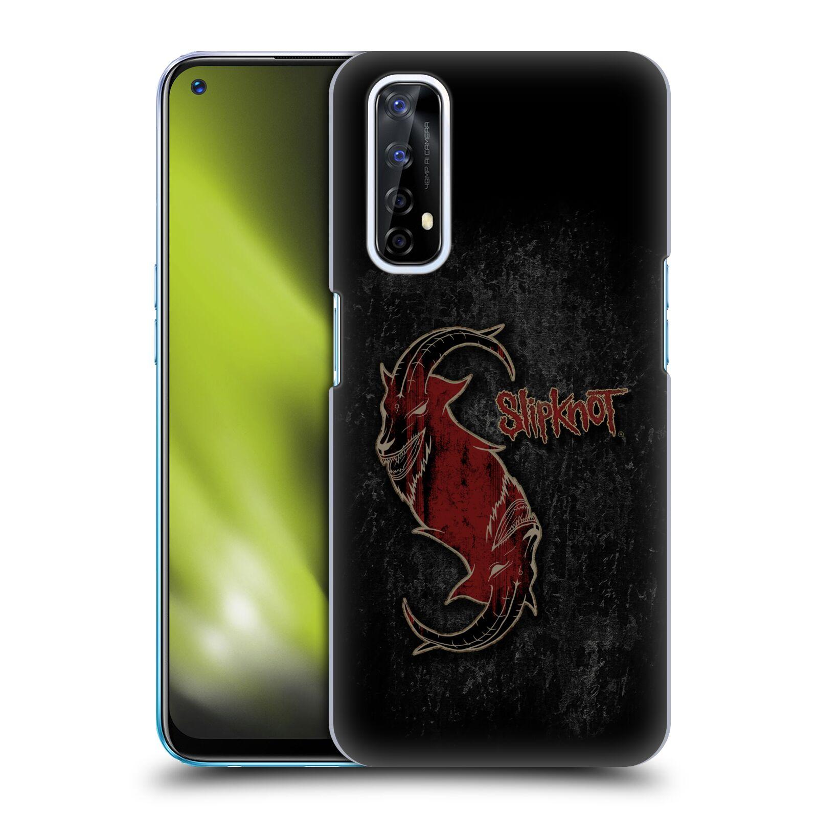 Plastové pouzdro na mobil Realme 7 - Head Case - Slipknot - Rudý kozel