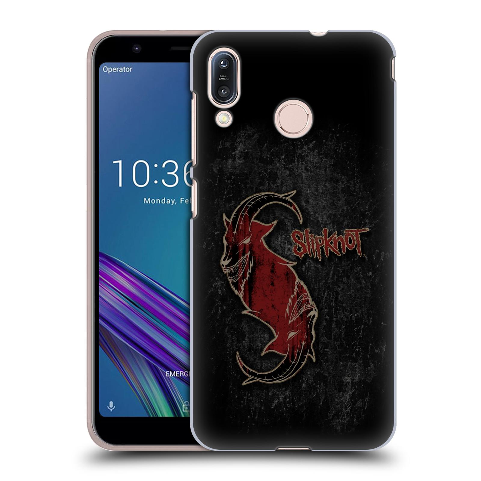 Plastové pouzdro na mobil Asus Zenfone Max M1 ZB555KL - Head Case - Slipknot - Rudý kozel