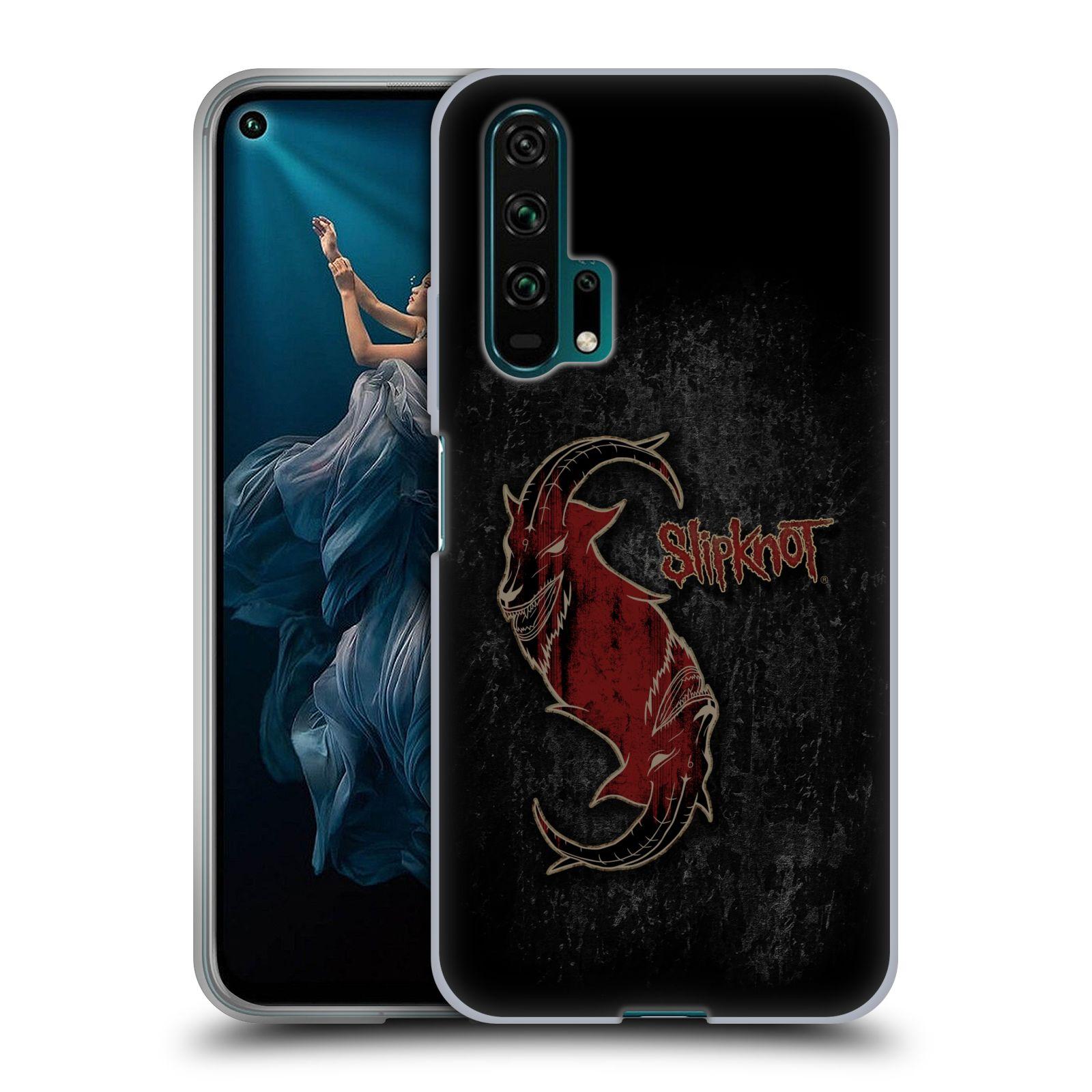 Silikonové pouzdro na mobil Honor 20 Pro - Head Case - Slipknot - Rudý kozel